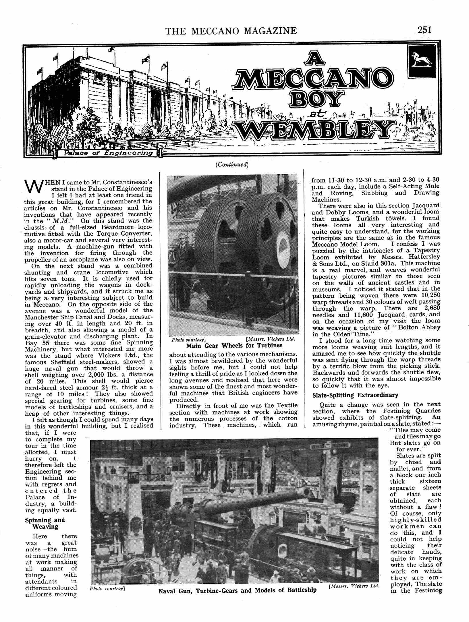 UK Meccano Magazine September 1924 Page 251