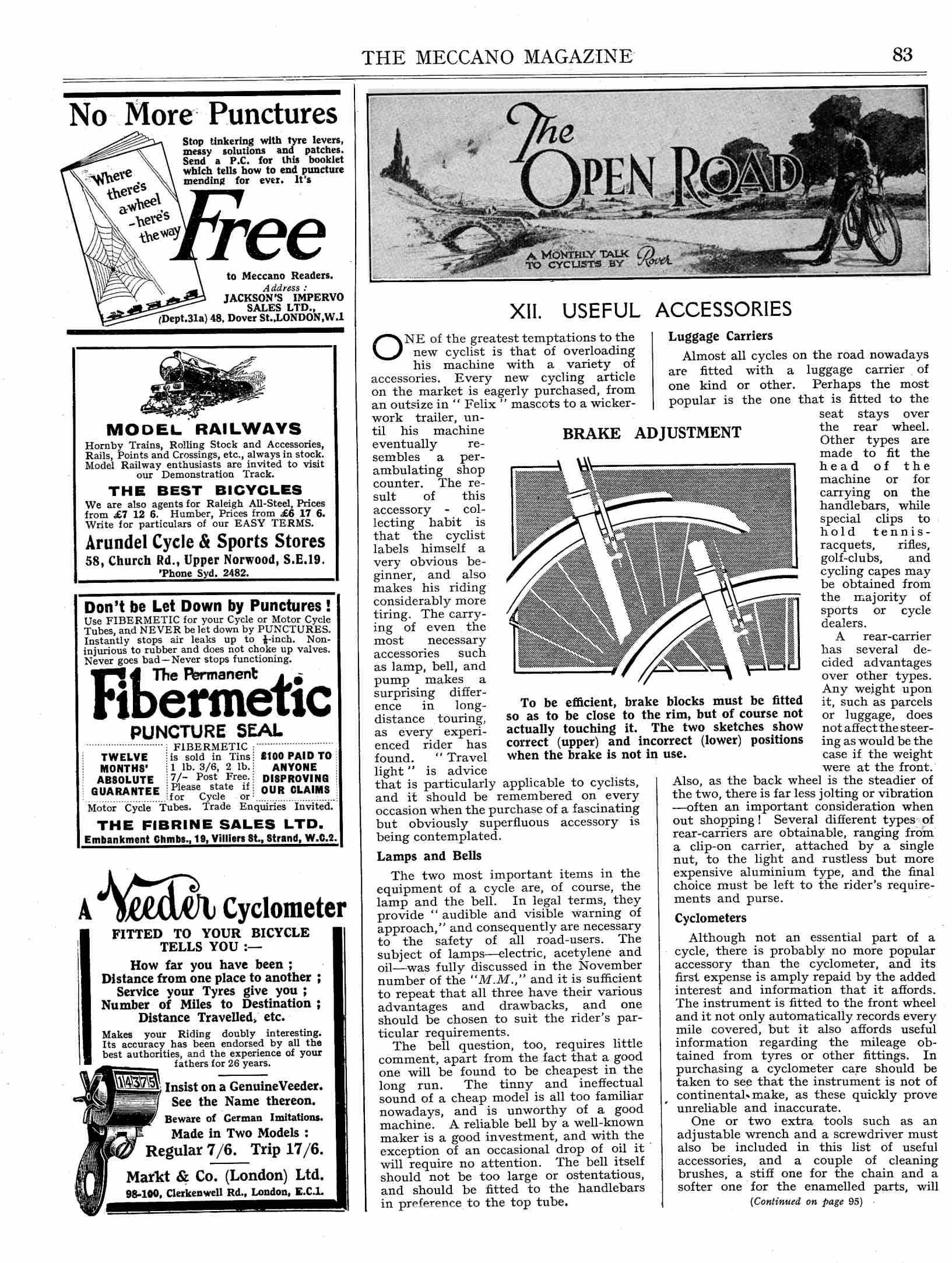 UK Meccano Magazine February 1925 Page 83