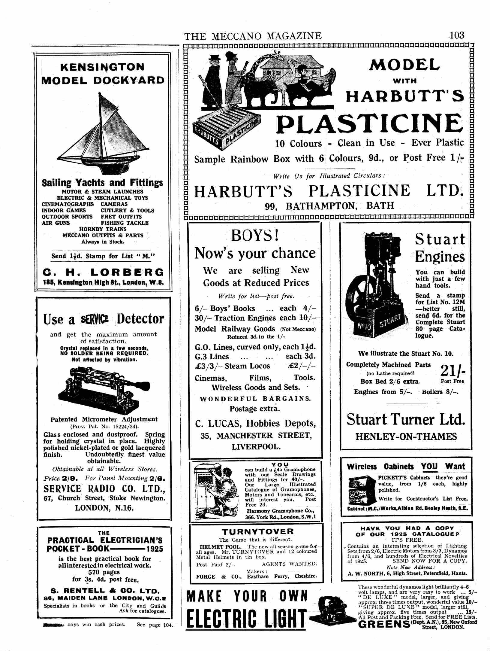 UK Meccano Magazine February 1925 Page 103