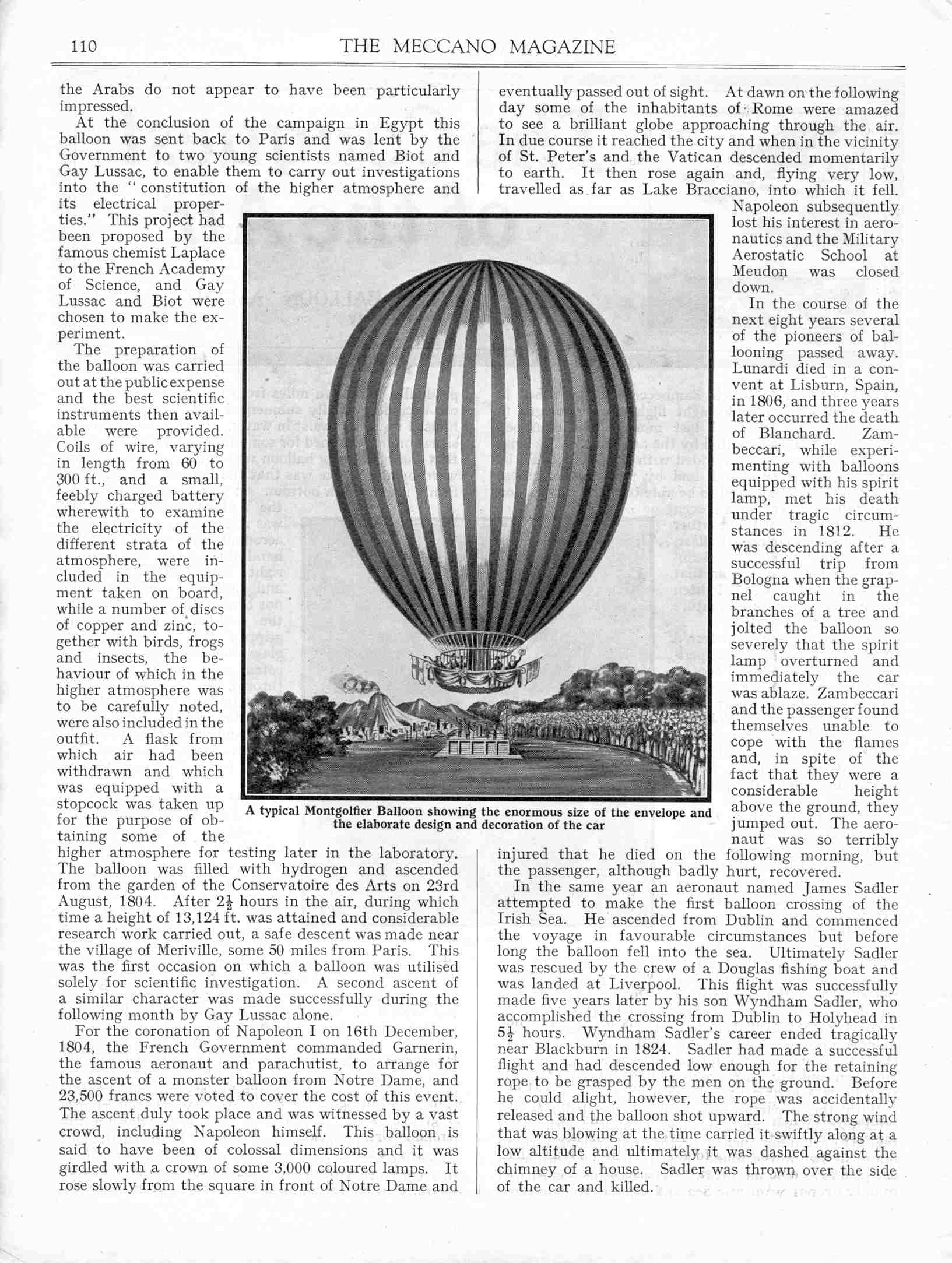 UK Meccano Magazine February 1928 Page 110