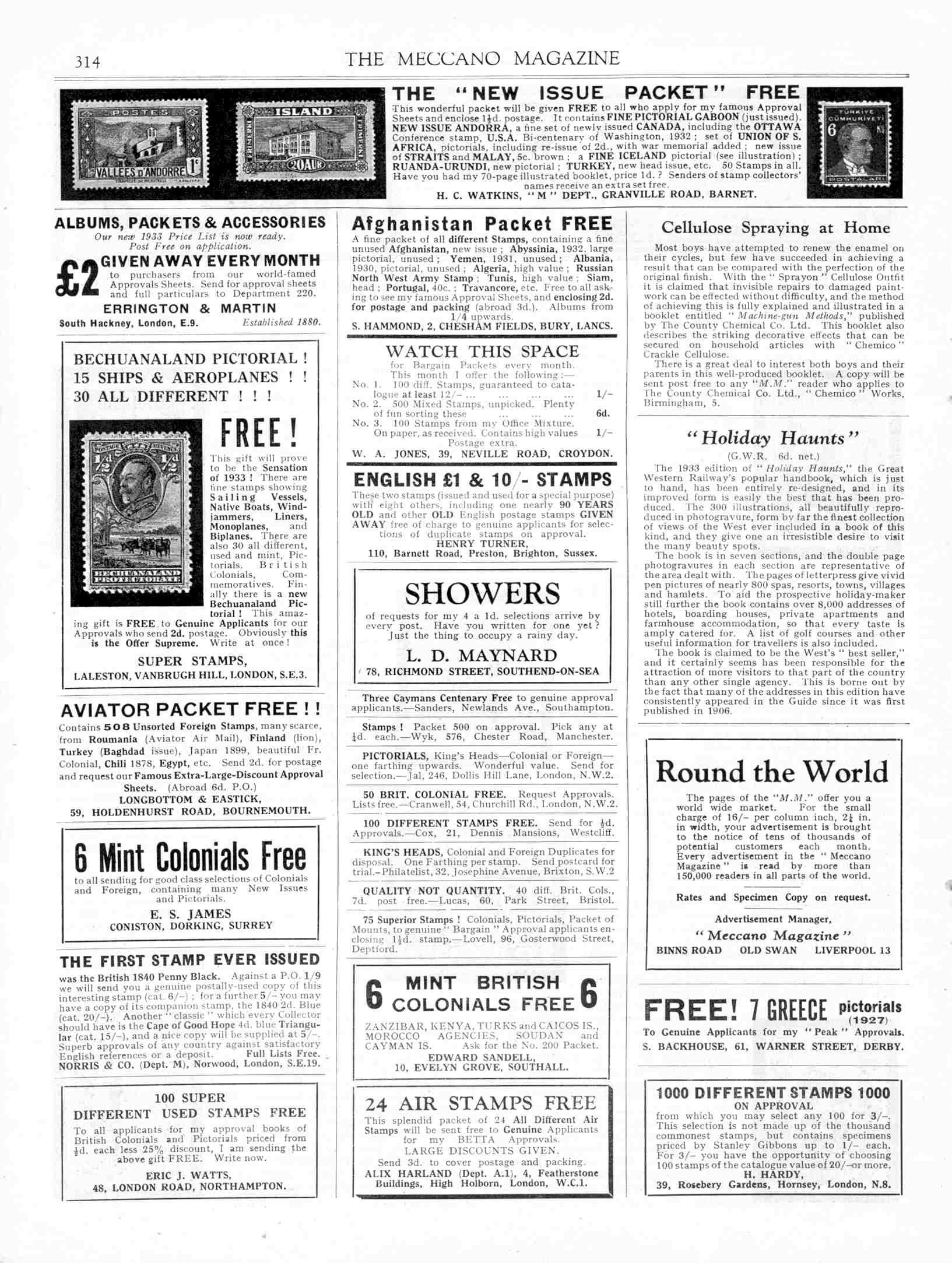UK Meccano Magazine April 1933 Page 314