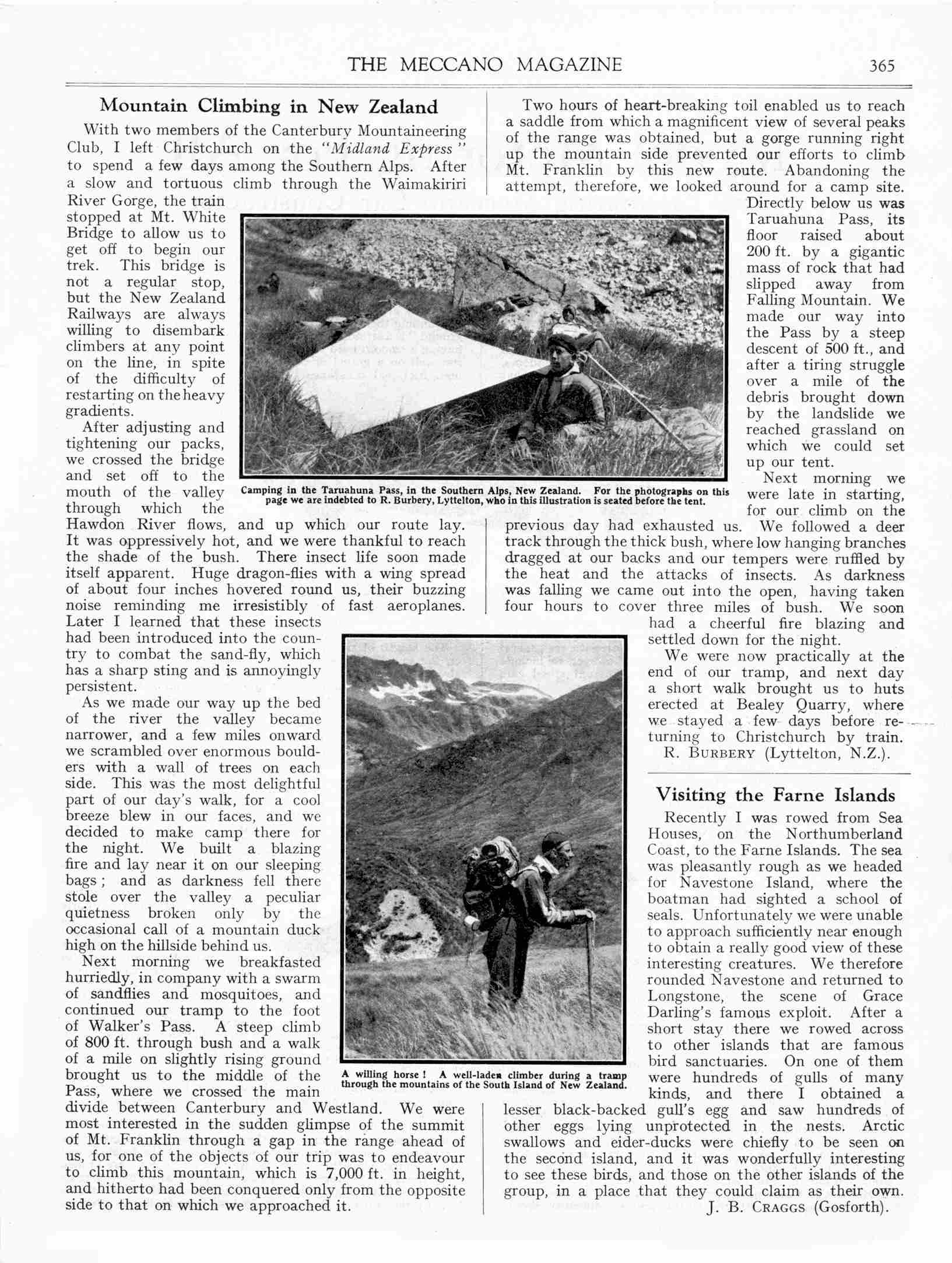 UK Meccano Magazine May 1933 Page 365