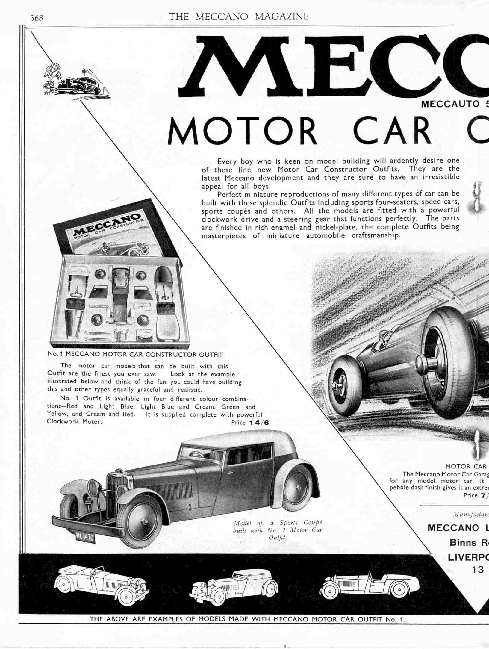 UK Meccano Magazine May 1933 Page 368