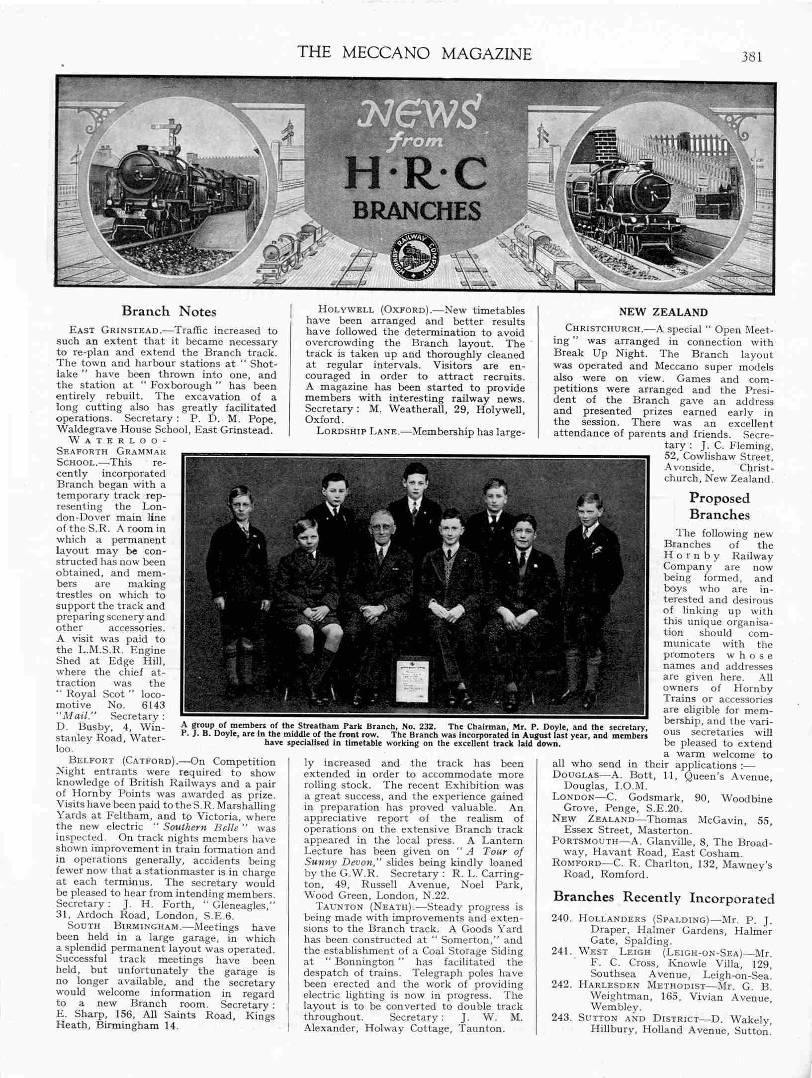UK Meccano Magazine May 1933 Page 381