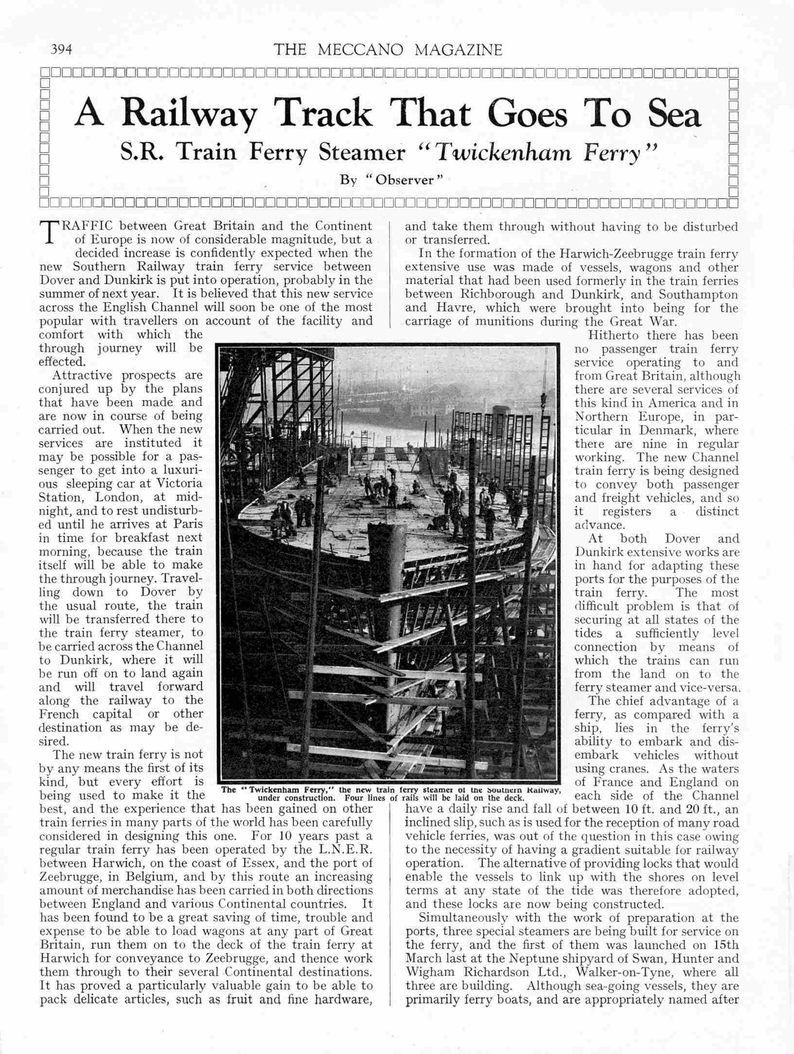 UK Meccano Magazine May 1934 Page 394