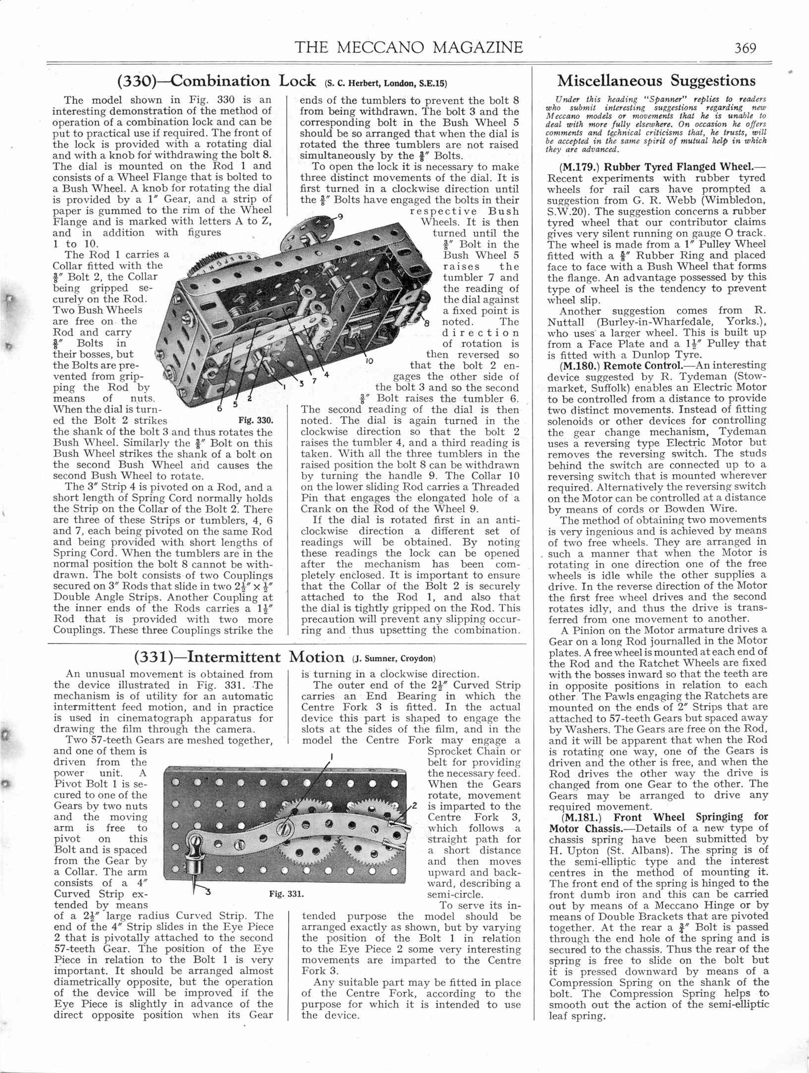 UK Meccano Magazine June 1935 Page 369
