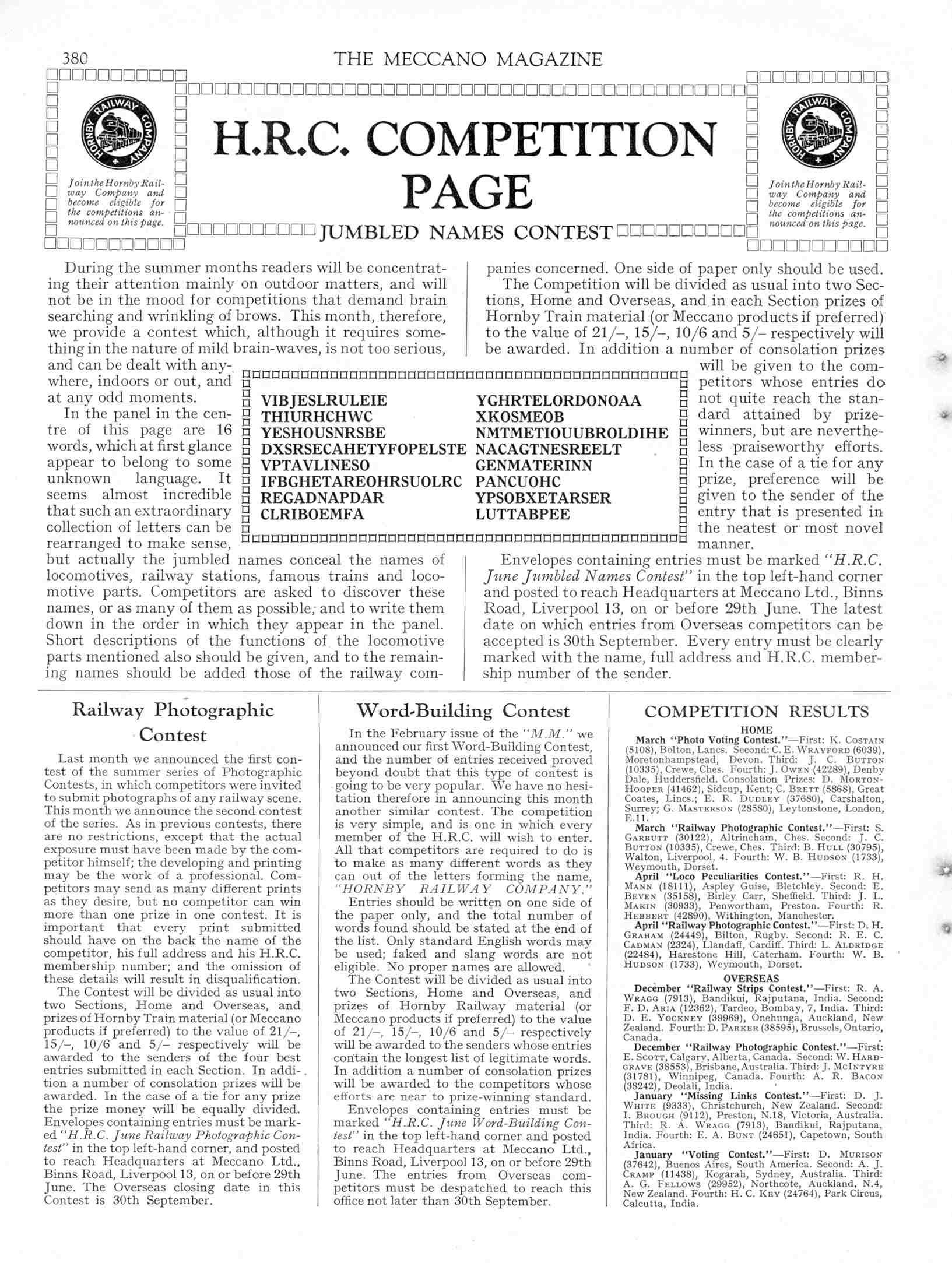 UK Meccano Magazine June 1935 Page 380