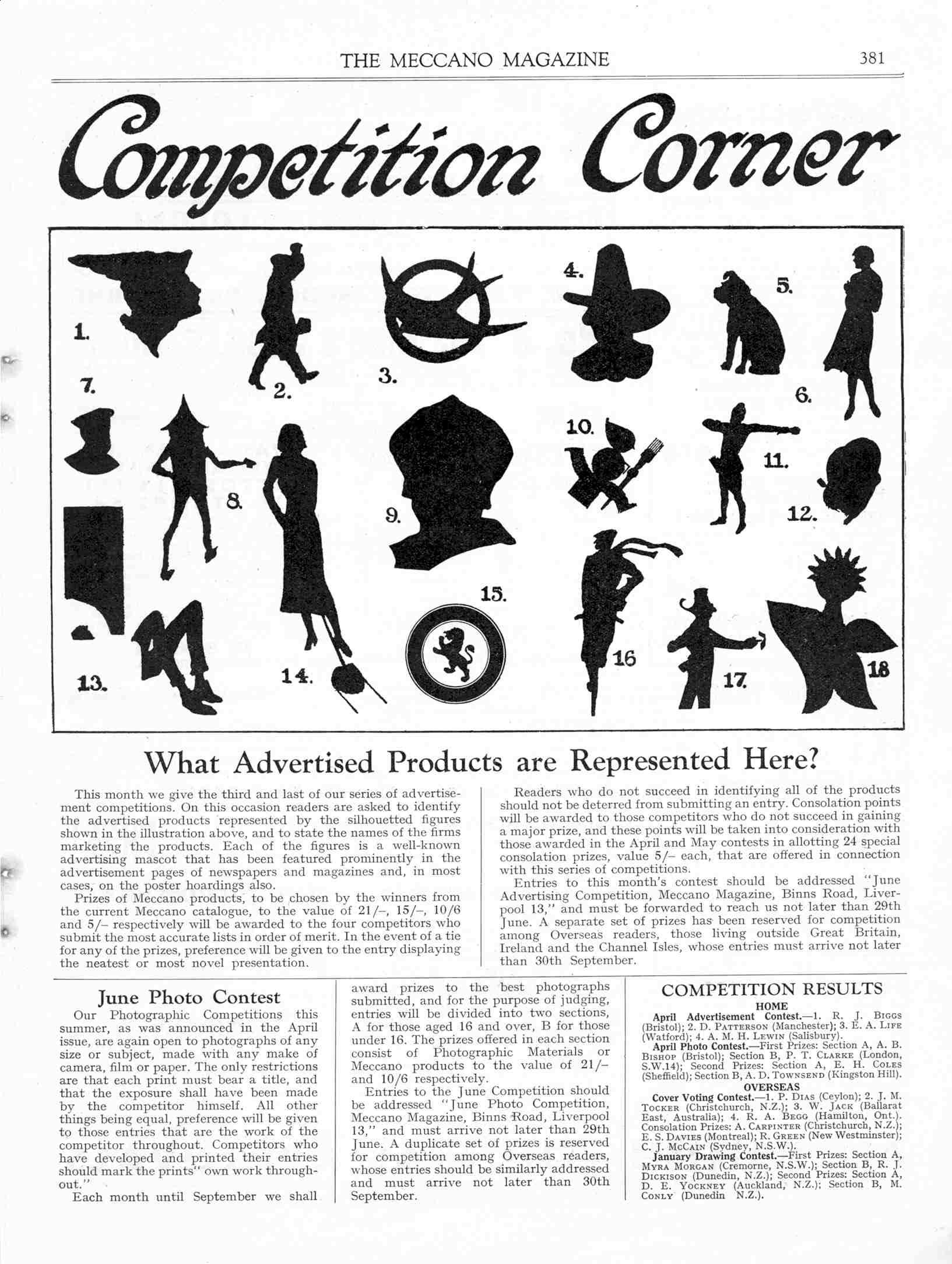 UK Meccano Magazine June 1935 Page 381