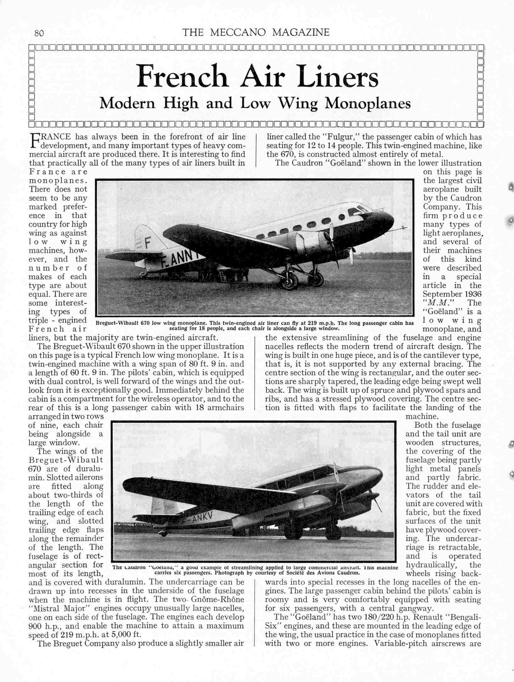 UK Meccano Magazine February 1937 Page 80