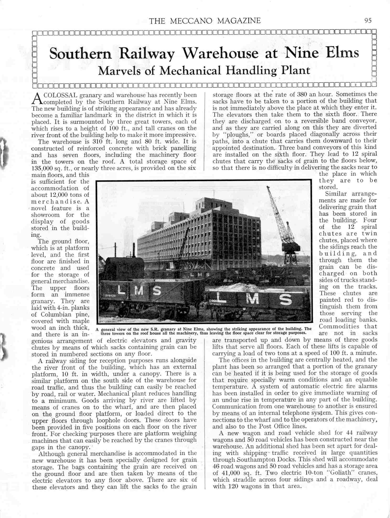 UK Meccano Magazine February 1937 Page 95
