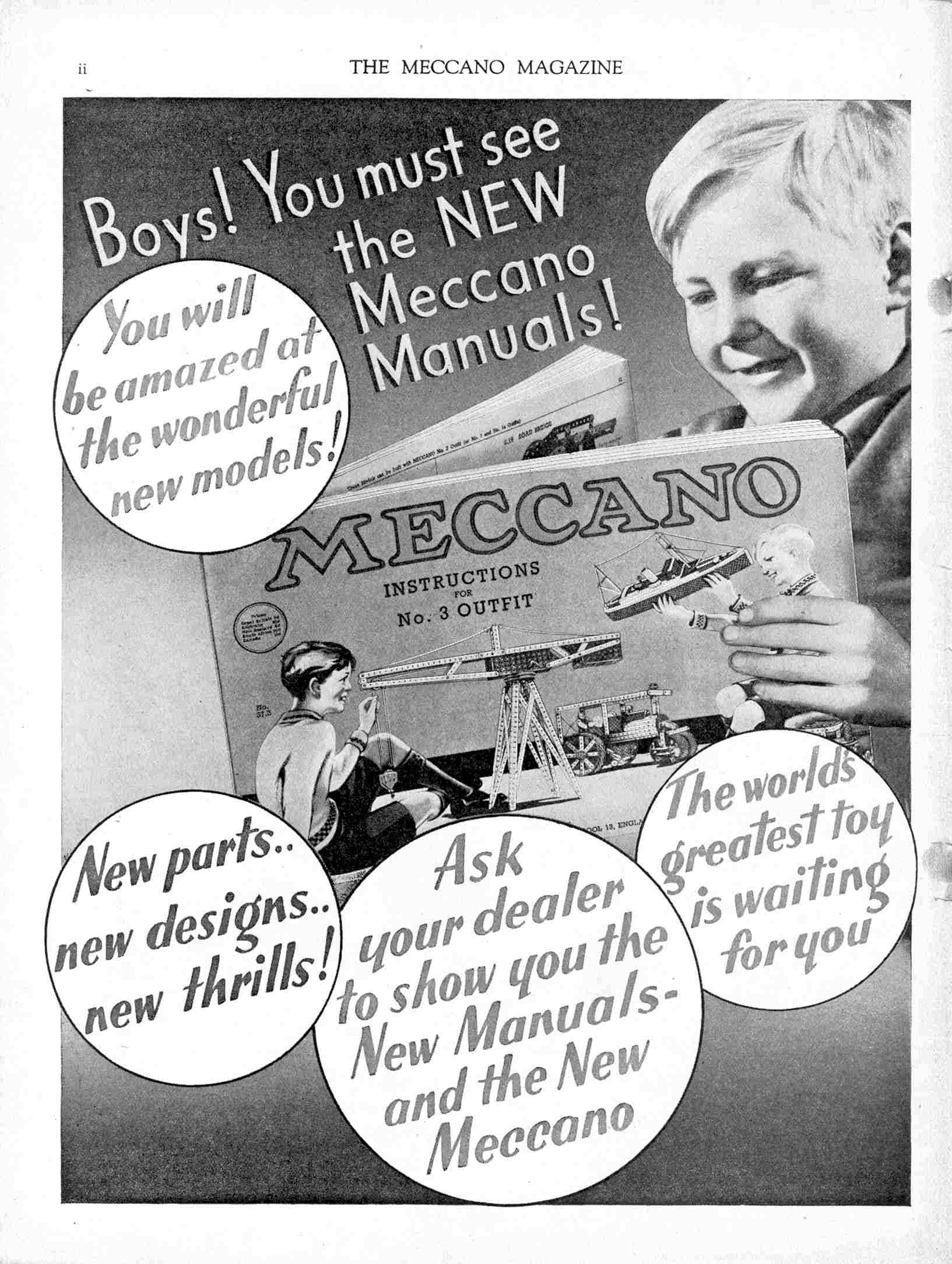 UK Meccano Magazine January 1938 Page ii