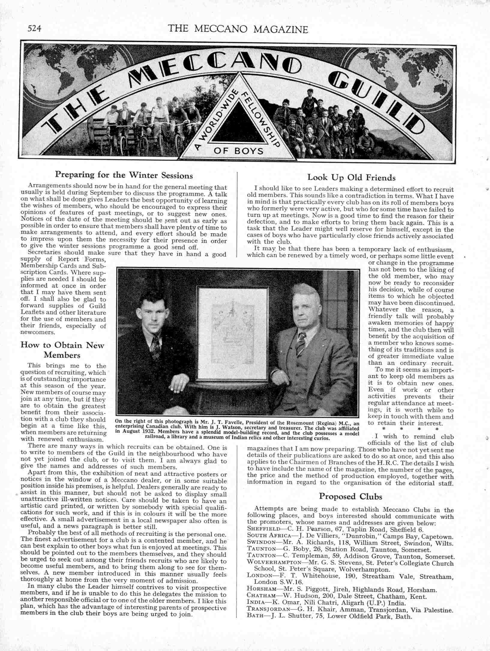 UK Meccano Magazine September 1938 Page 524