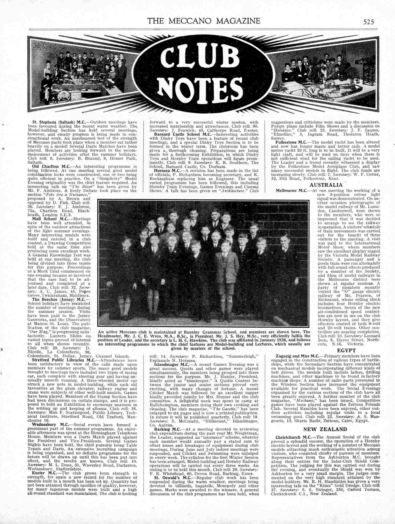 UK Meccano Magazine September 1938 Page 525
