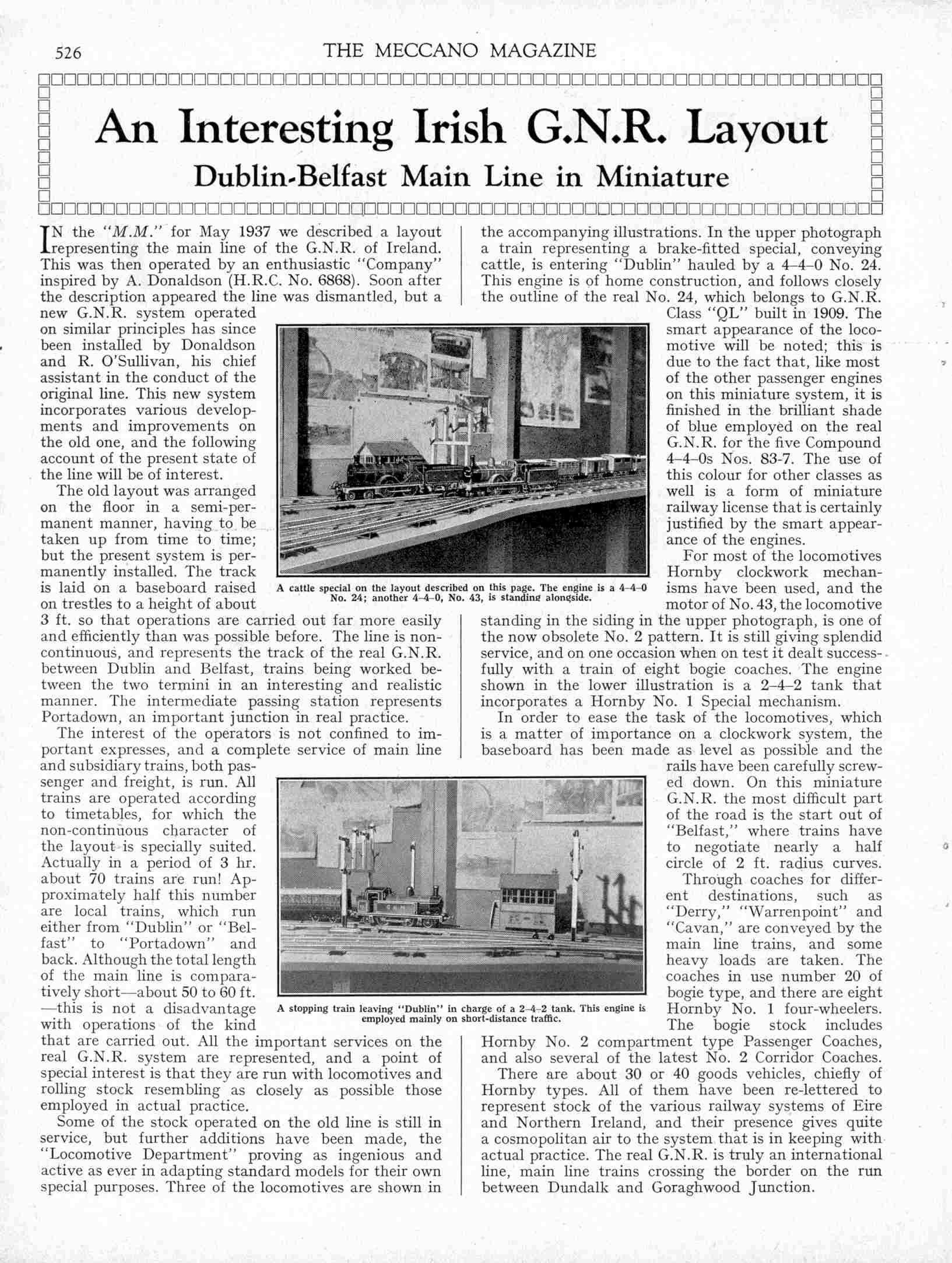 UK Meccano Magazine September 1938 Page 526