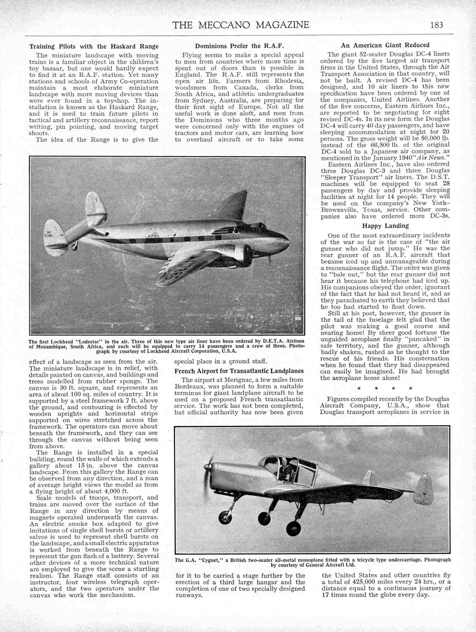 UK Meccano Magazine April 1940 Page 183