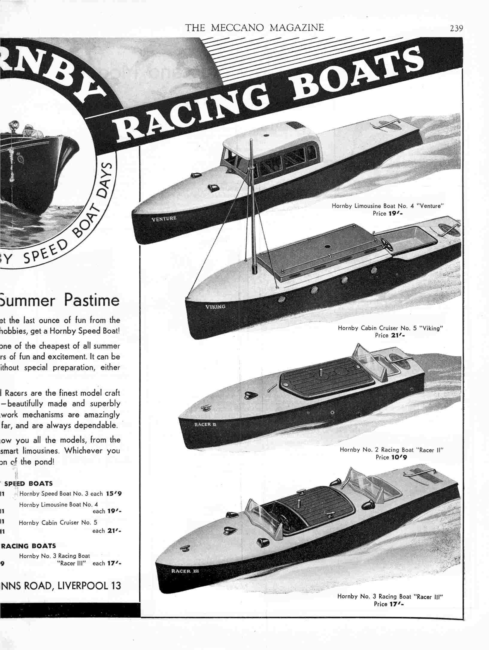 UK Meccano Magazine May 1940 Page 239