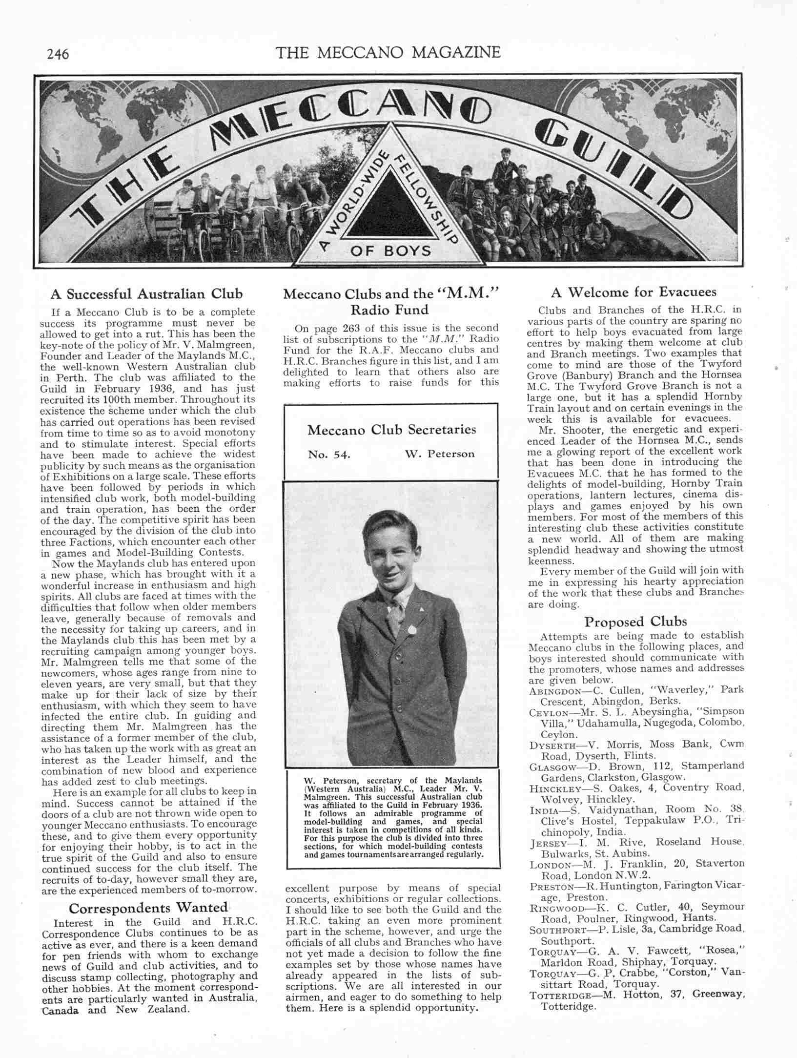 UK Meccano Magazine May 1940 Page 246