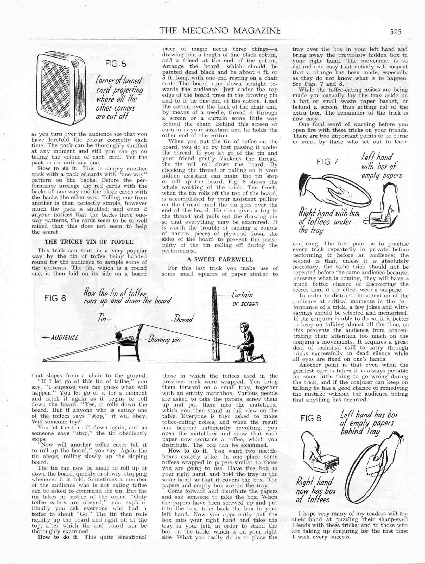 UK Meccano Magazine December 1940 Page 525