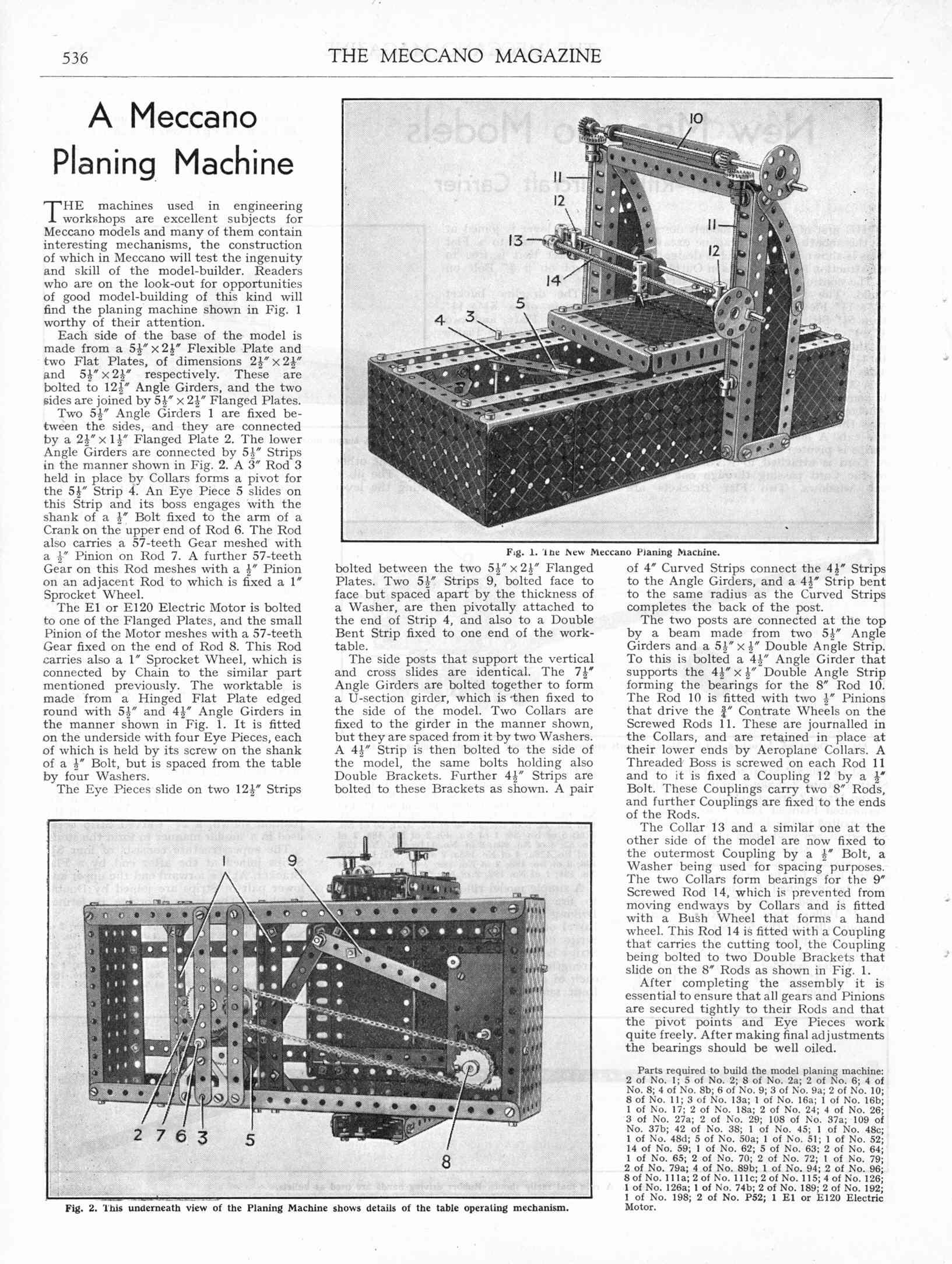 UK Meccano Magazine December 1940 Page 536