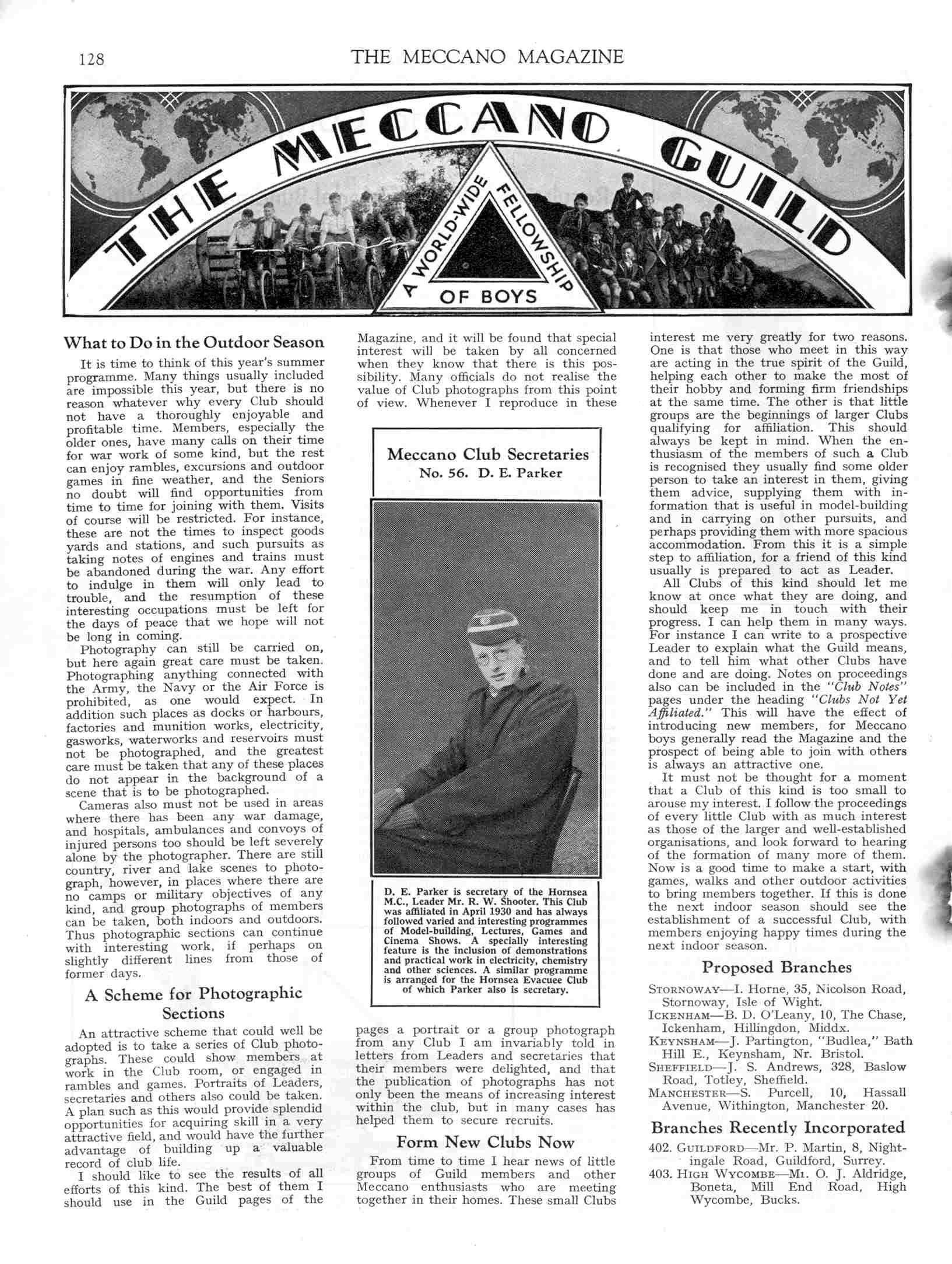 UK Meccano Magazine April 1941 Page 128