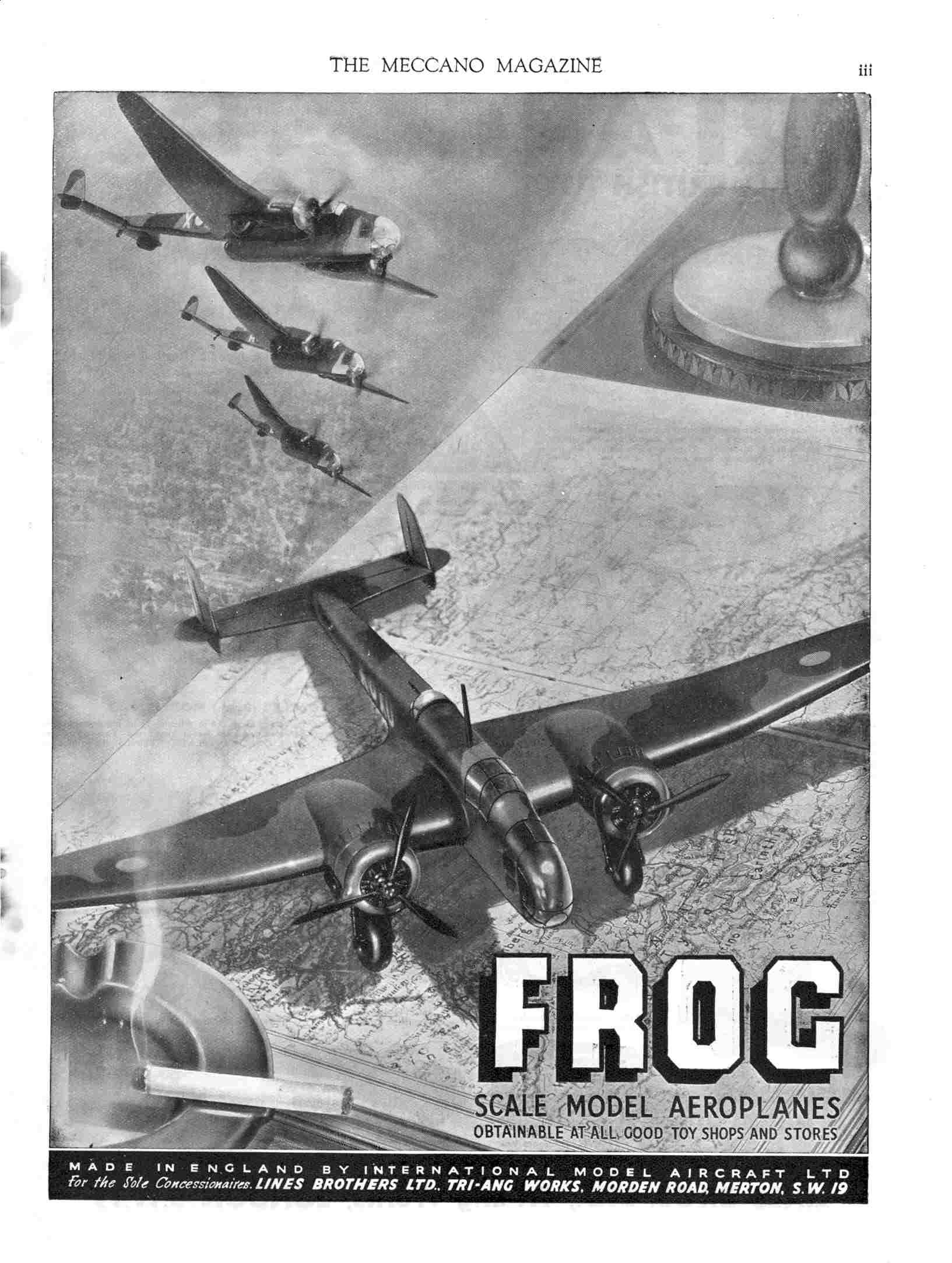 UK Meccano Magazine April 1941 Page iii
