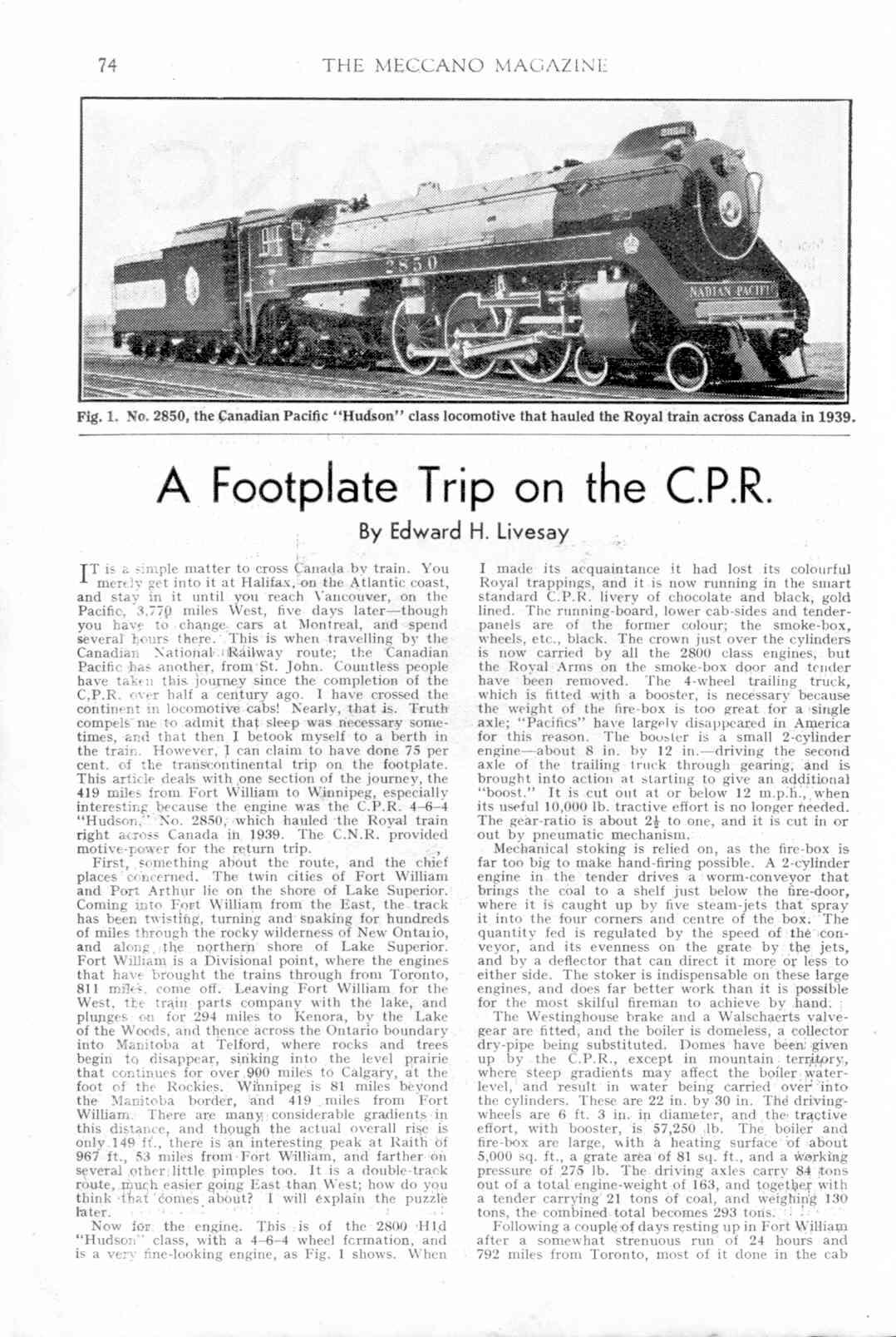 UK Meccano Magazine March 1943 Page 74