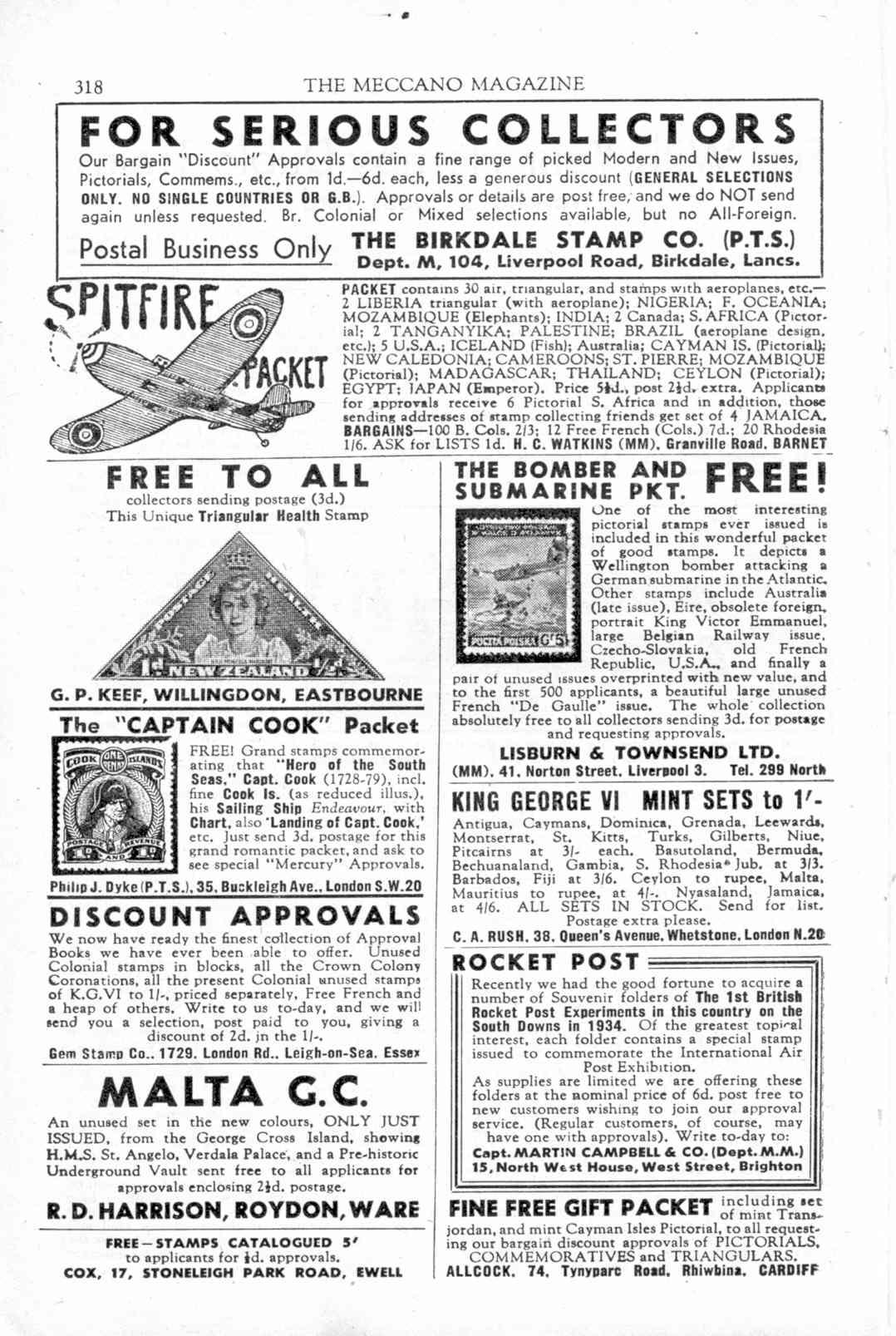 UK Meccano Magazine September 1944 Page 318
