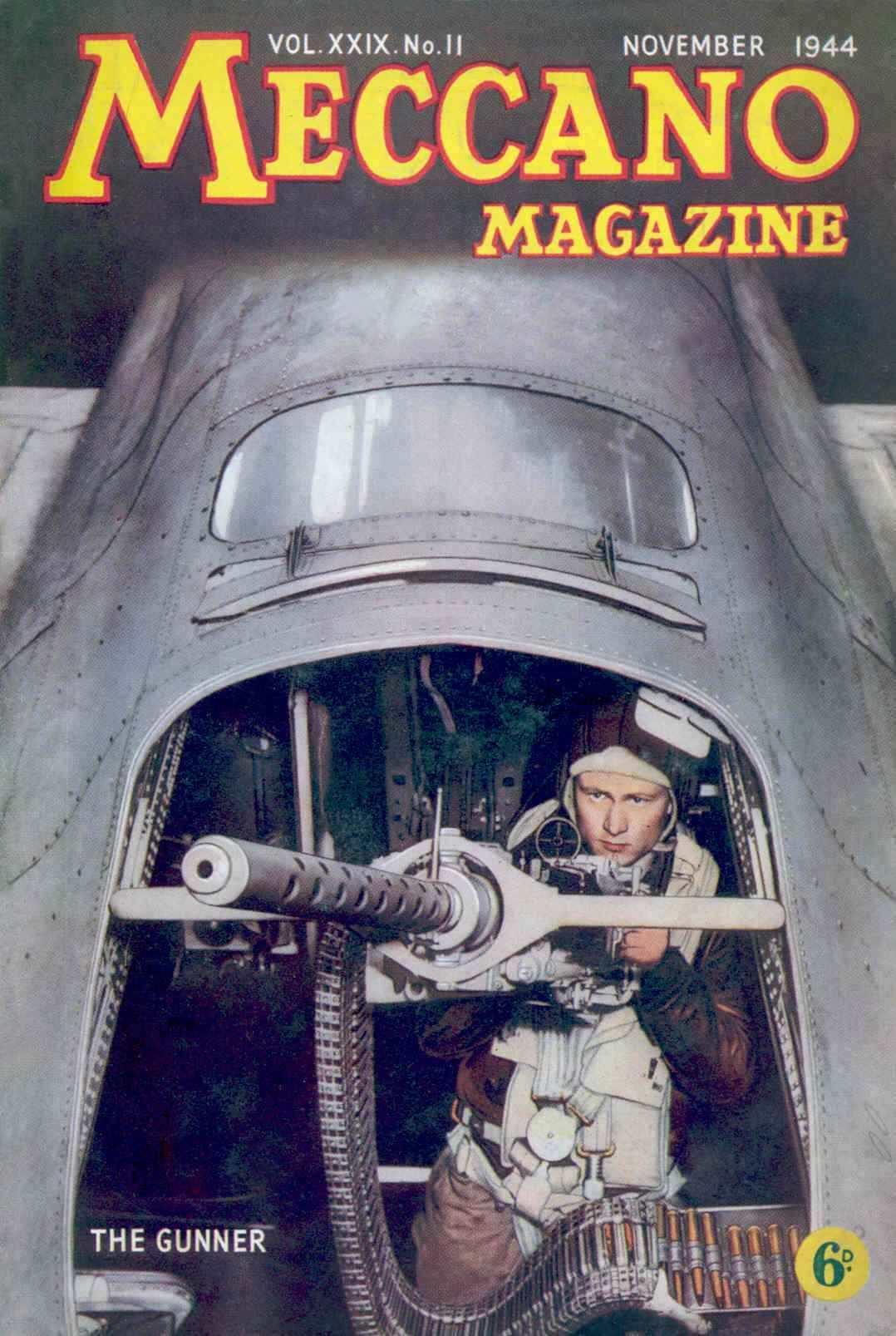 UK Meccano Magazine November 1944 Front cover