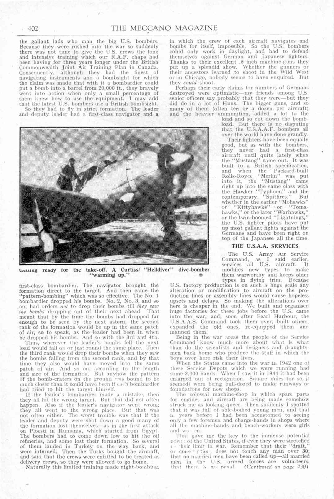 UK Meccano Magazine December 1944 Page 402