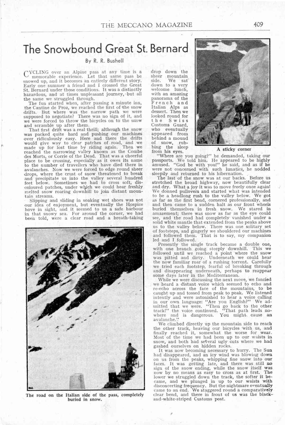 UK Meccano Magazine December 1944 Page 409