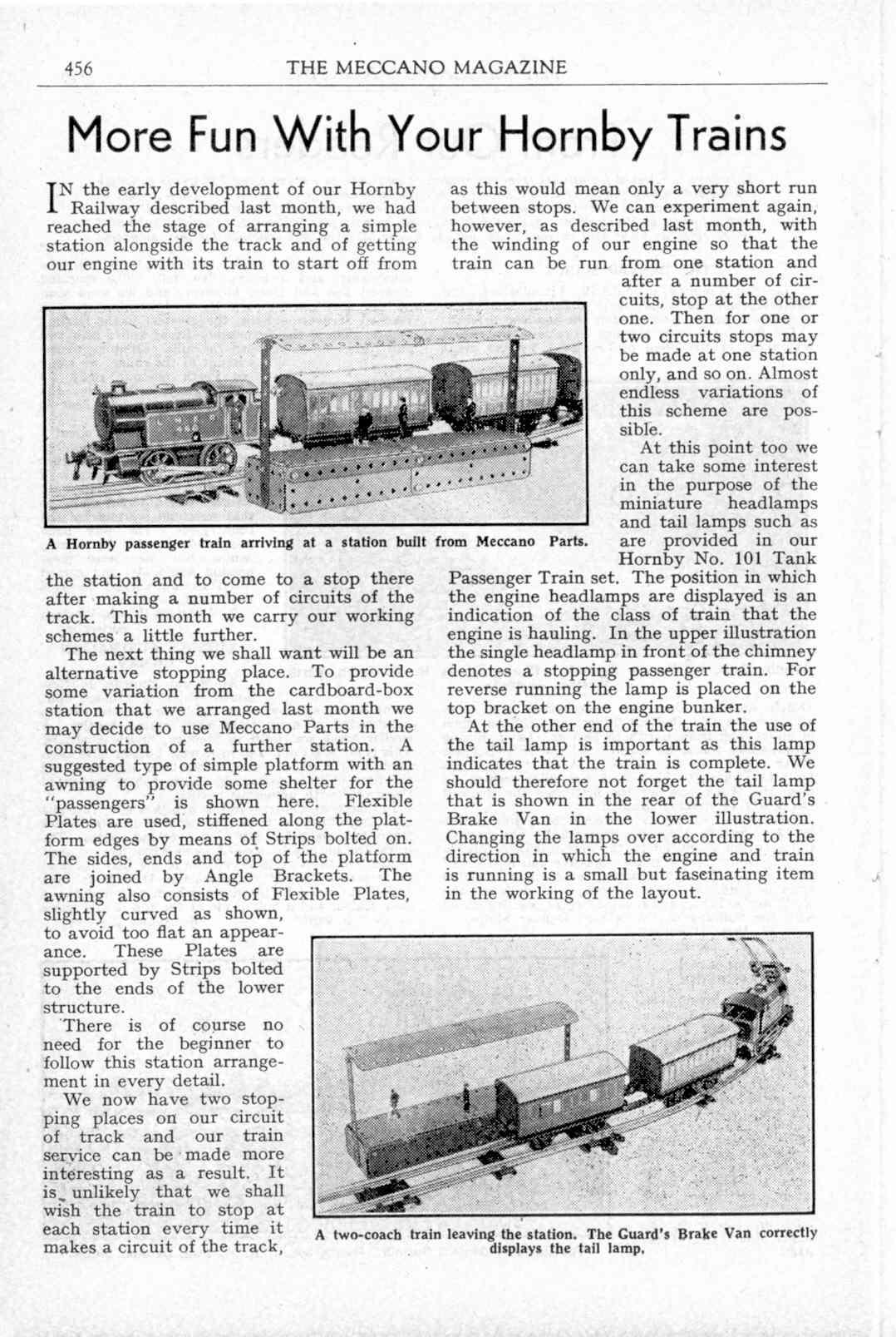UK Meccano Magazine November 1947 Page 456