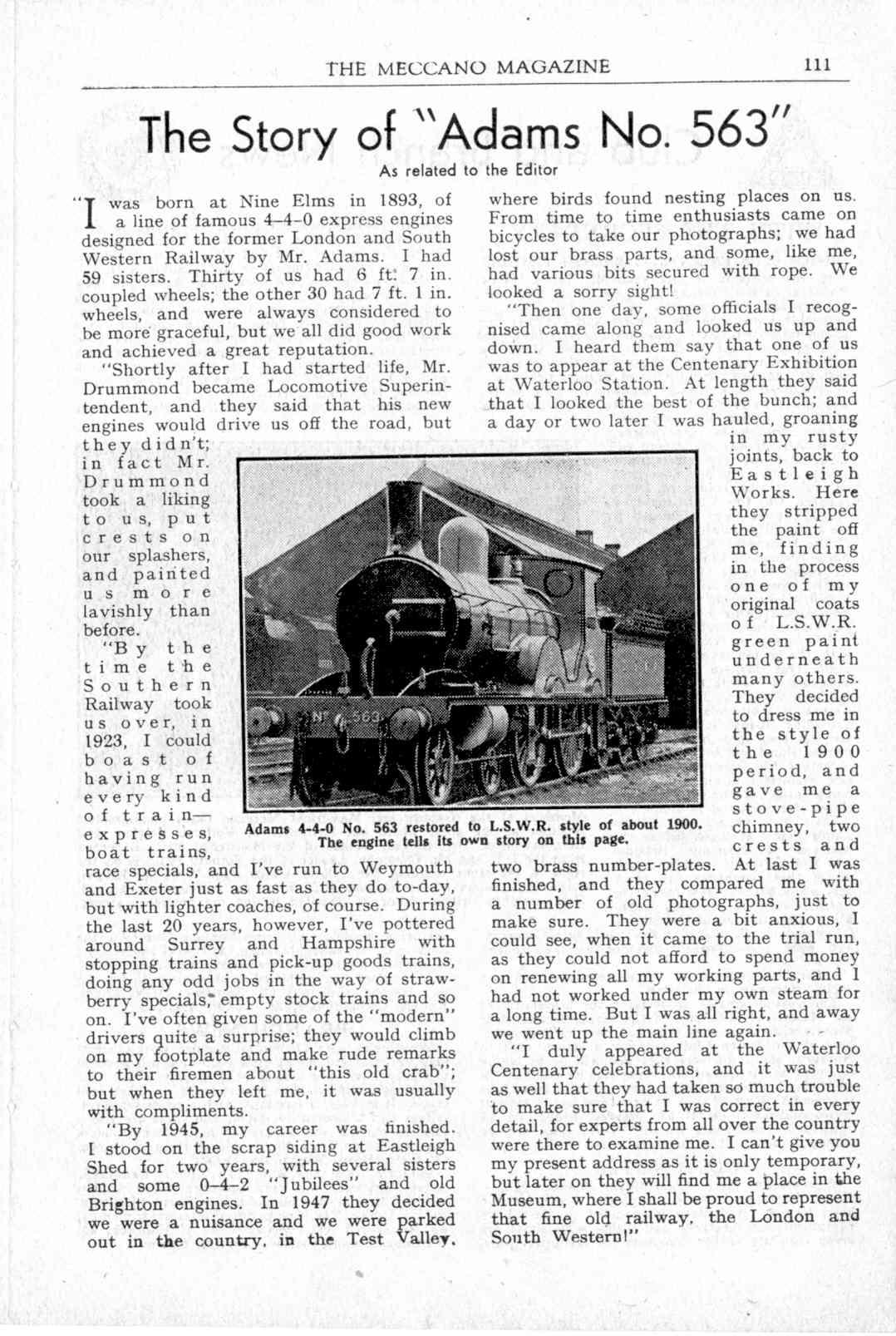 UK Meccano Magazine March 1949 Page 111