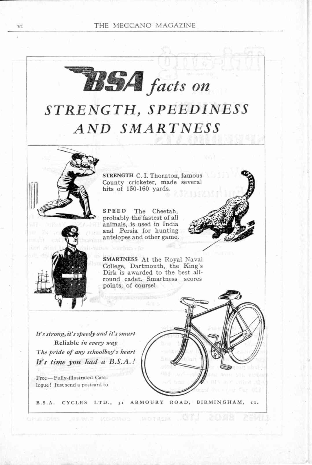 UK Meccano Magazine March 1949 Page vi