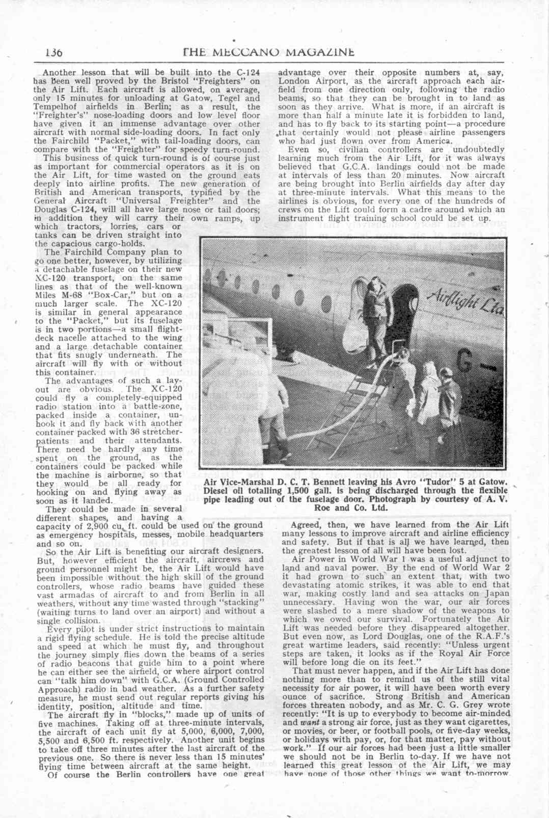 UK Meccano Magazine April 1949 Page 136