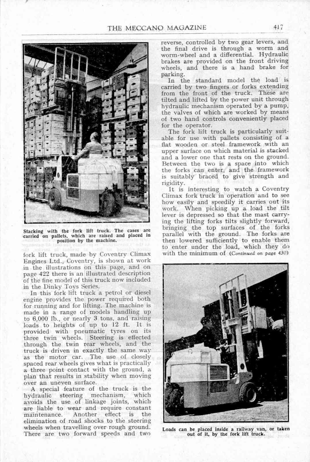 UK Meccano Magazine November 1949 Page 417