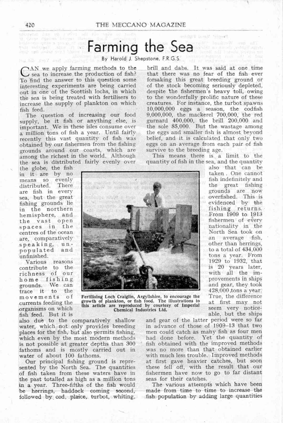 UK Meccano Magazine November 1949 Page 420