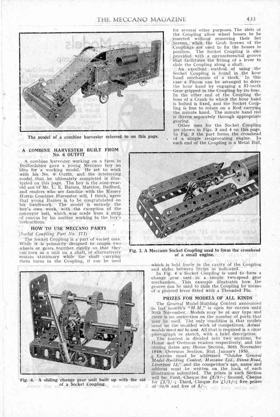UK Meccano Magazine November 1949 Page 433