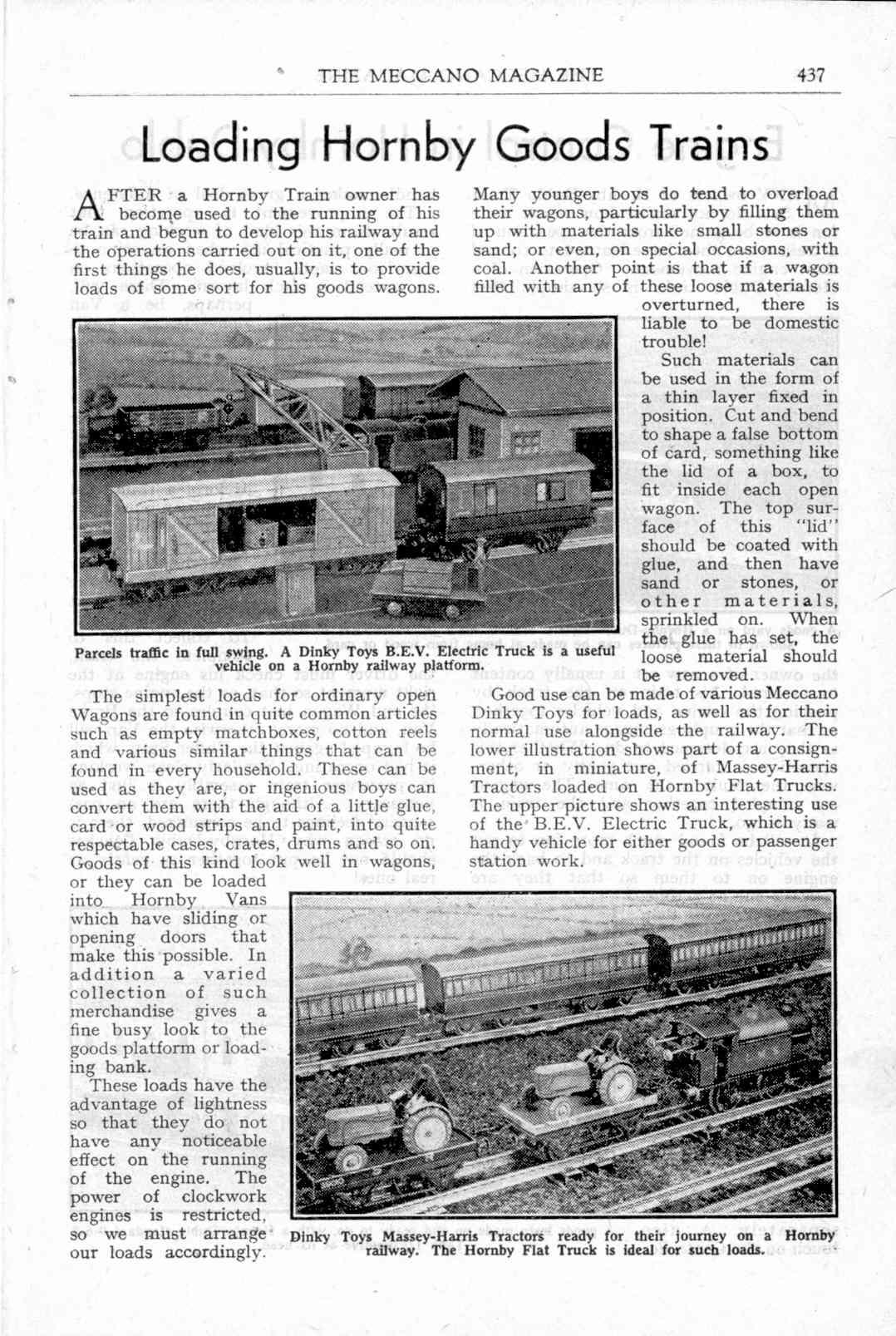 UK Meccano Magazine November 1949 Page 437
