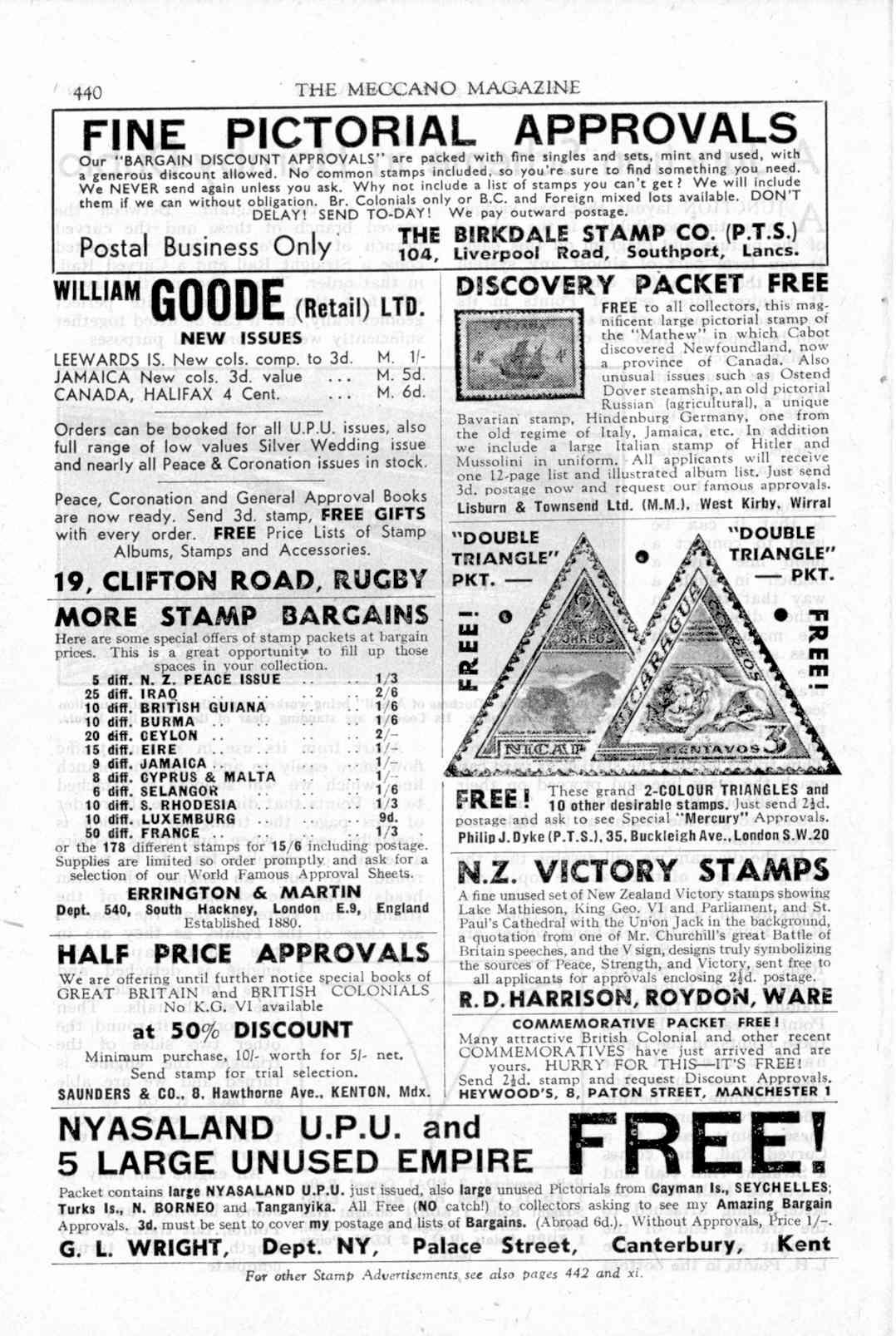UK Meccano Magazine November 1949 Page 440