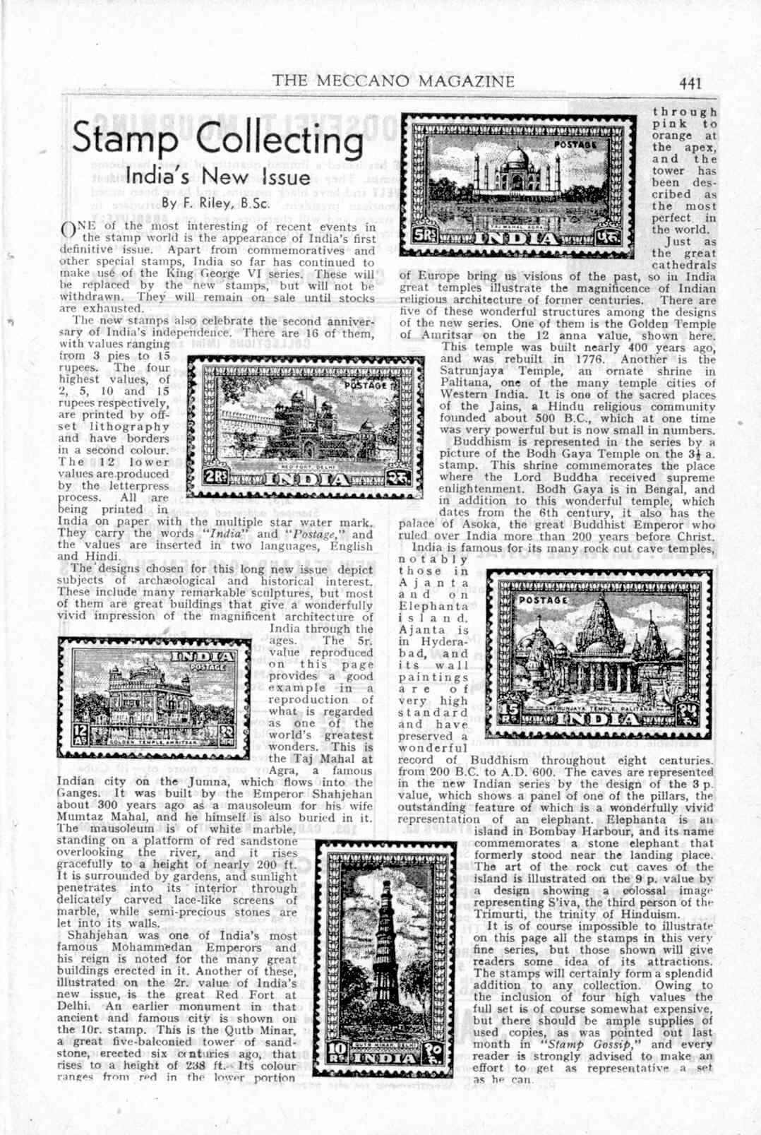 UK Meccano Magazine November 1949 Page 441