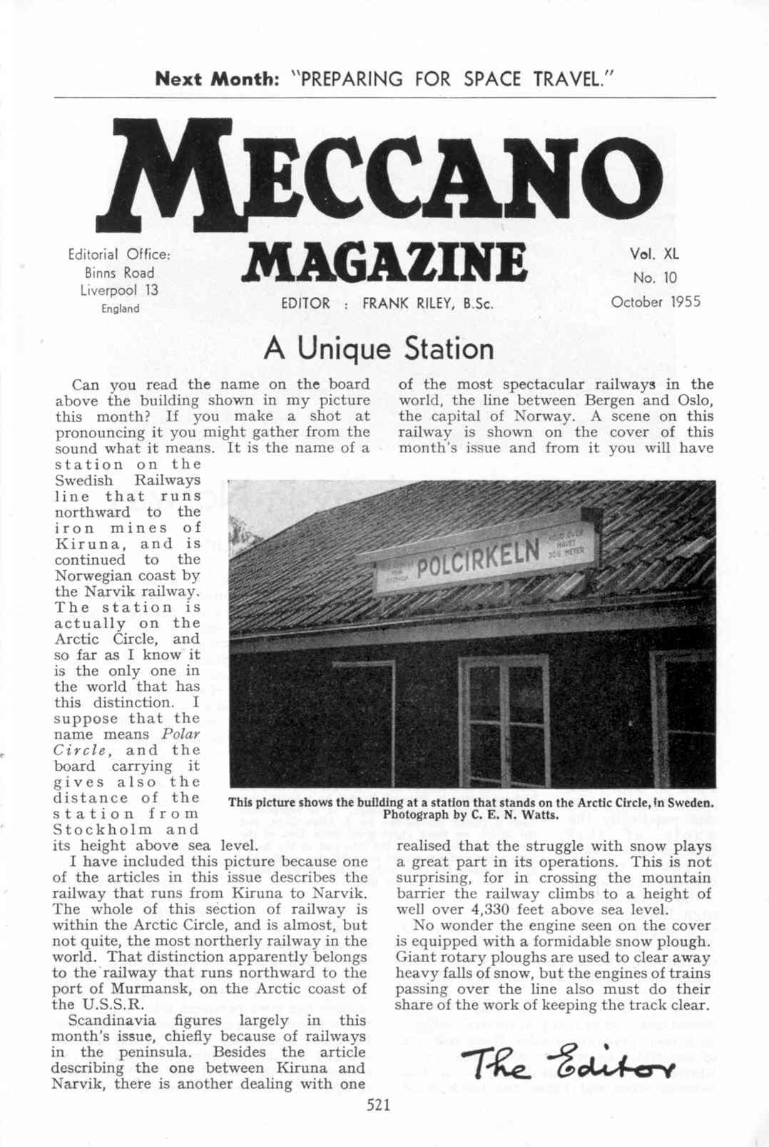 UK Meccano Magazine October 1955 Page 521
