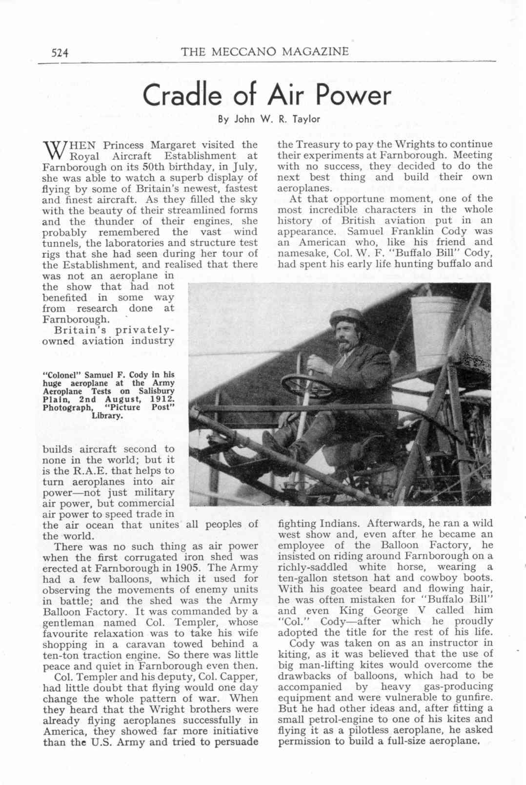 UK Meccano Magazine October 1955 Page 524