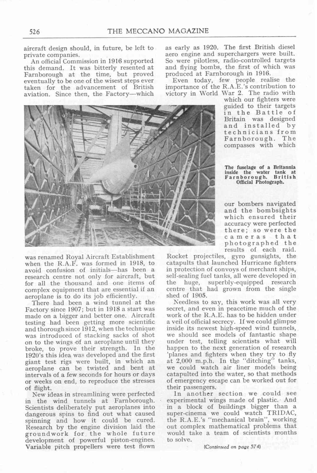 UK Meccano Magazine October 1955 Page 526