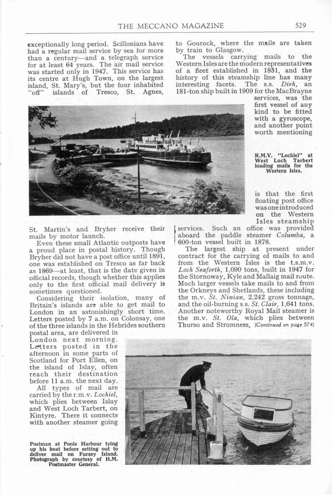 UK Meccano Magazine October 1955 Page 529