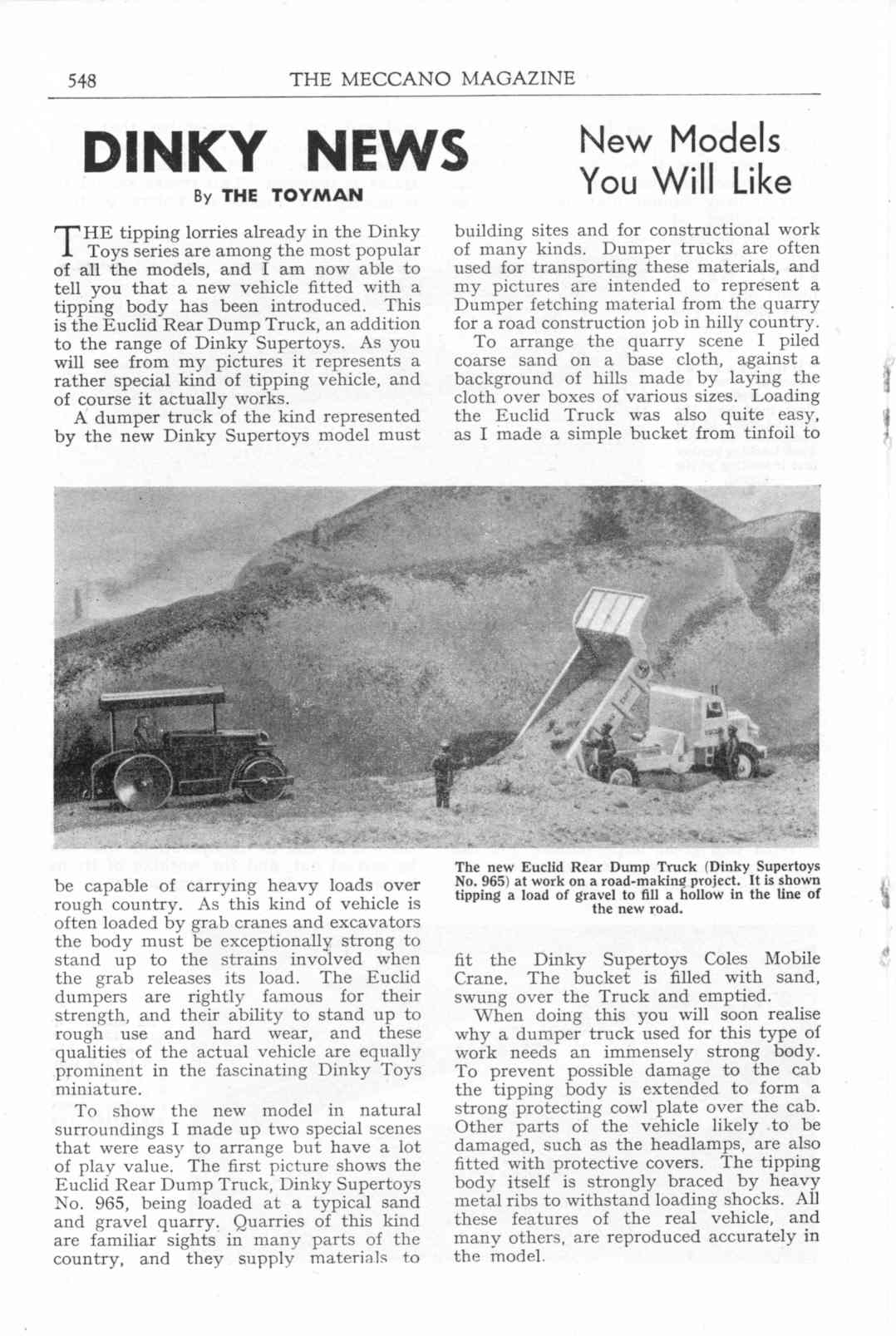 UK Meccano Magazine October 1955 Page 548