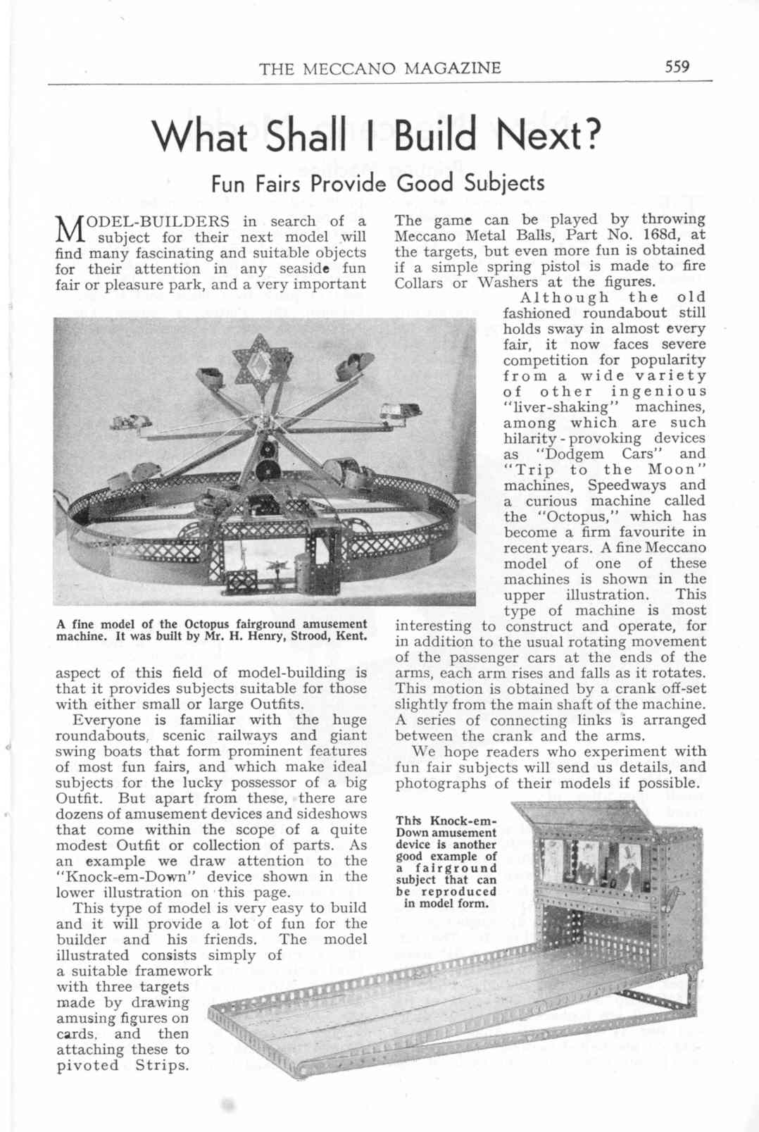 UK Meccano Magazine October 1955 Page 559