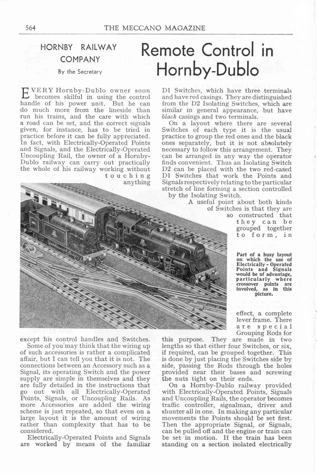 UK Meccano Magazine October 1955 Page 564