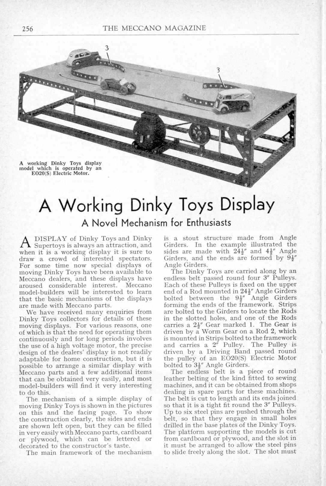 UK Meccano Magazine May 1959 Page 256
