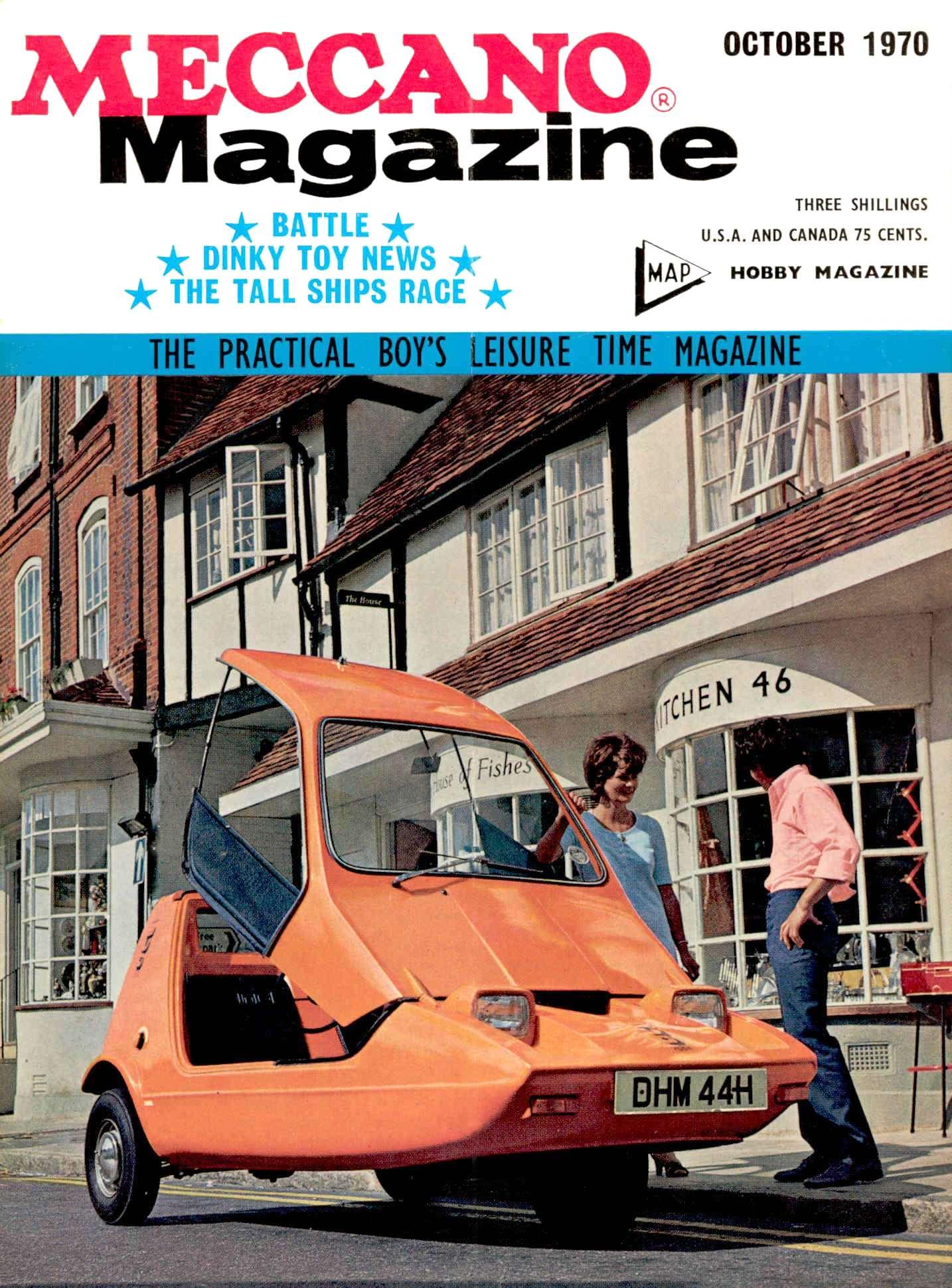 UK Meccano Magazine October 1970 Page 525