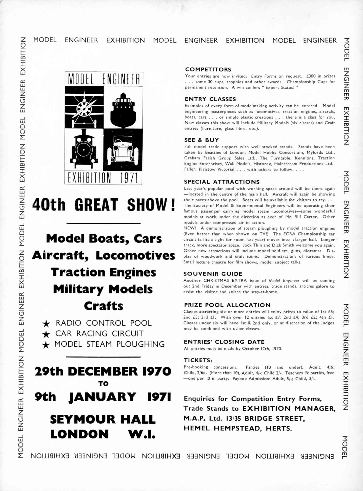 UK Meccano Magazine October 1970 Page 526